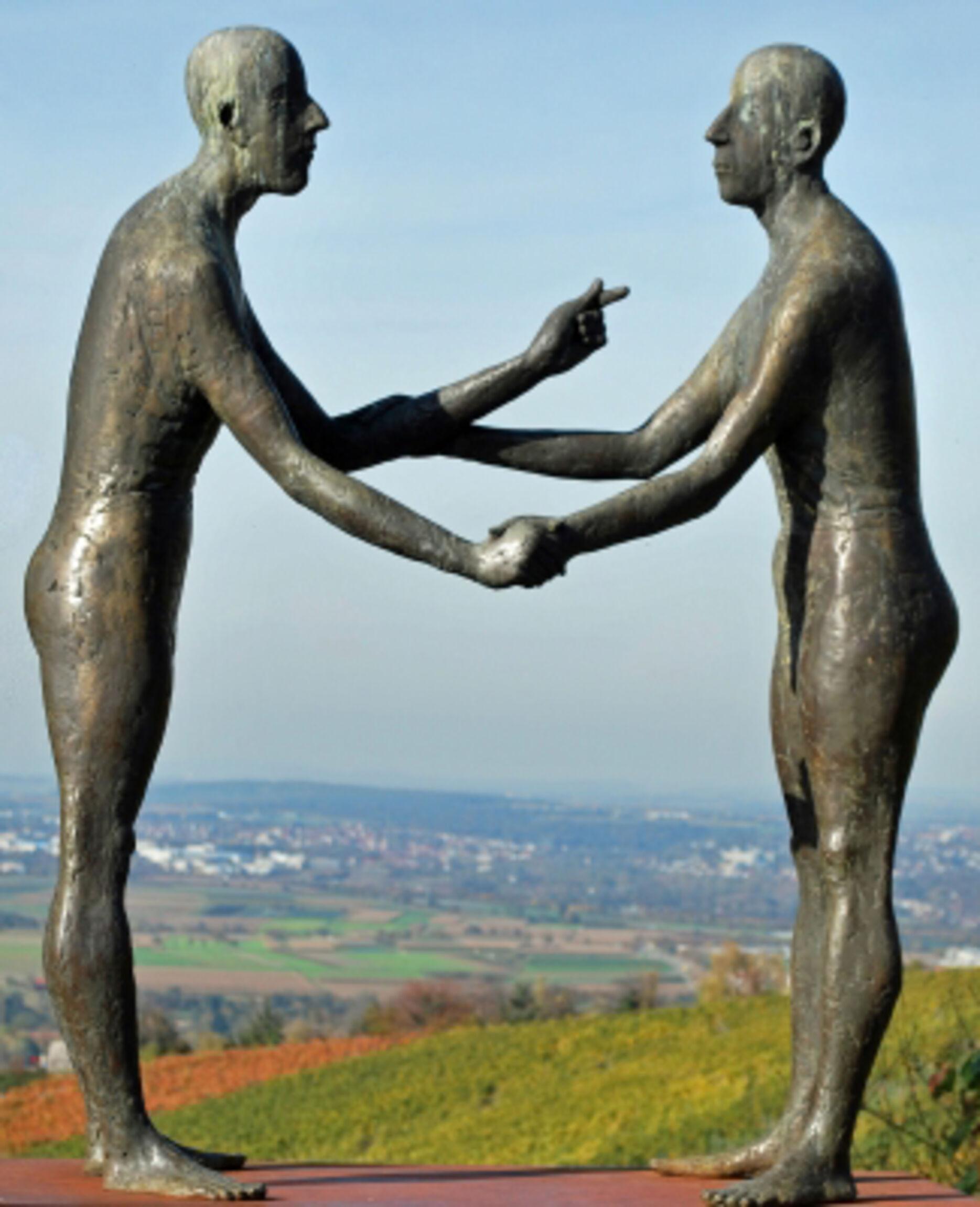 Höchste Gebot Statuen aus Stein_groß