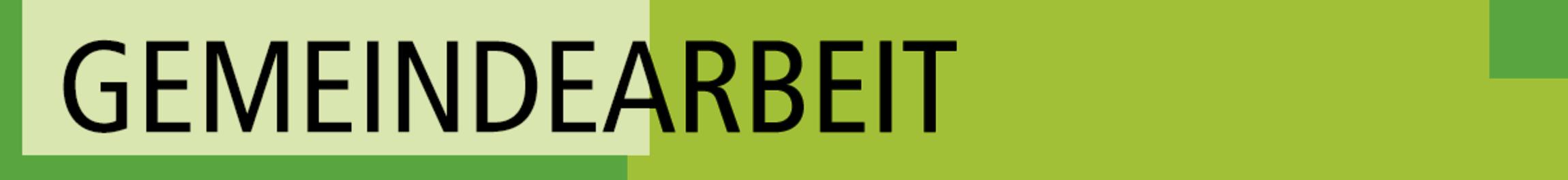 gemeindearbeit_schrift