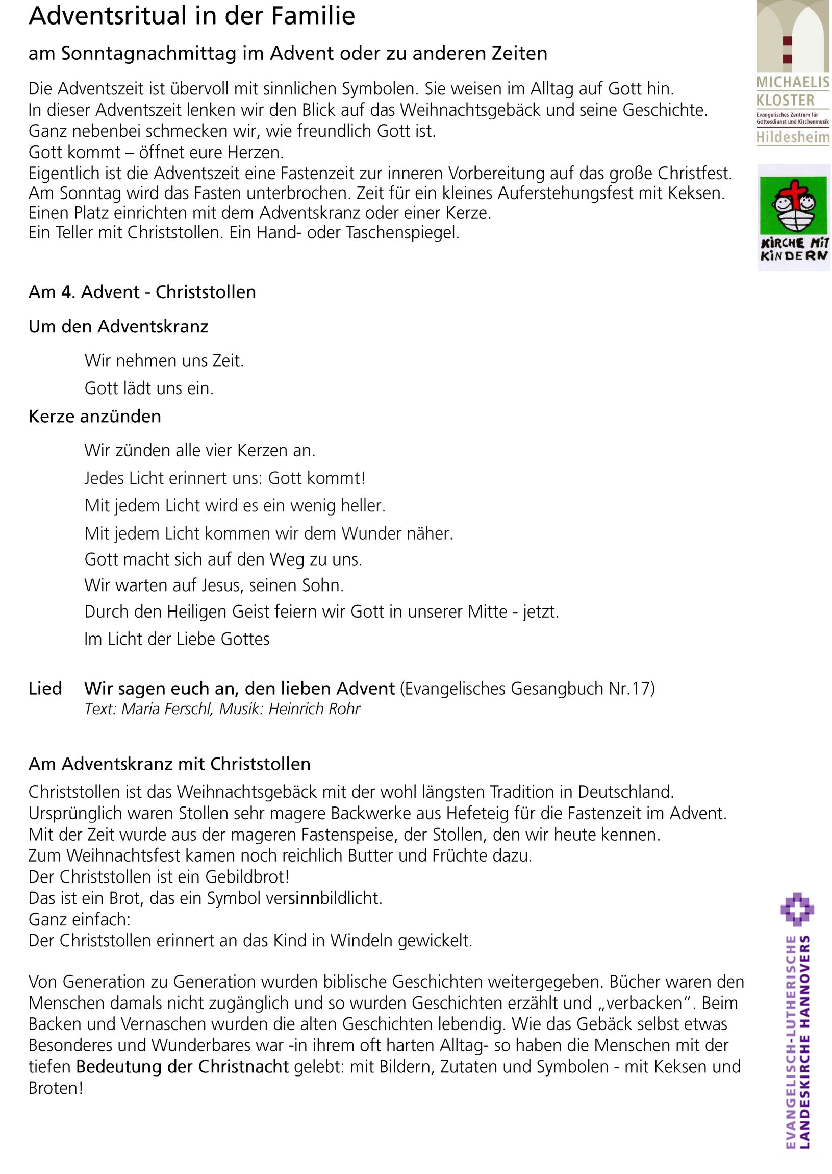 4. Advent a