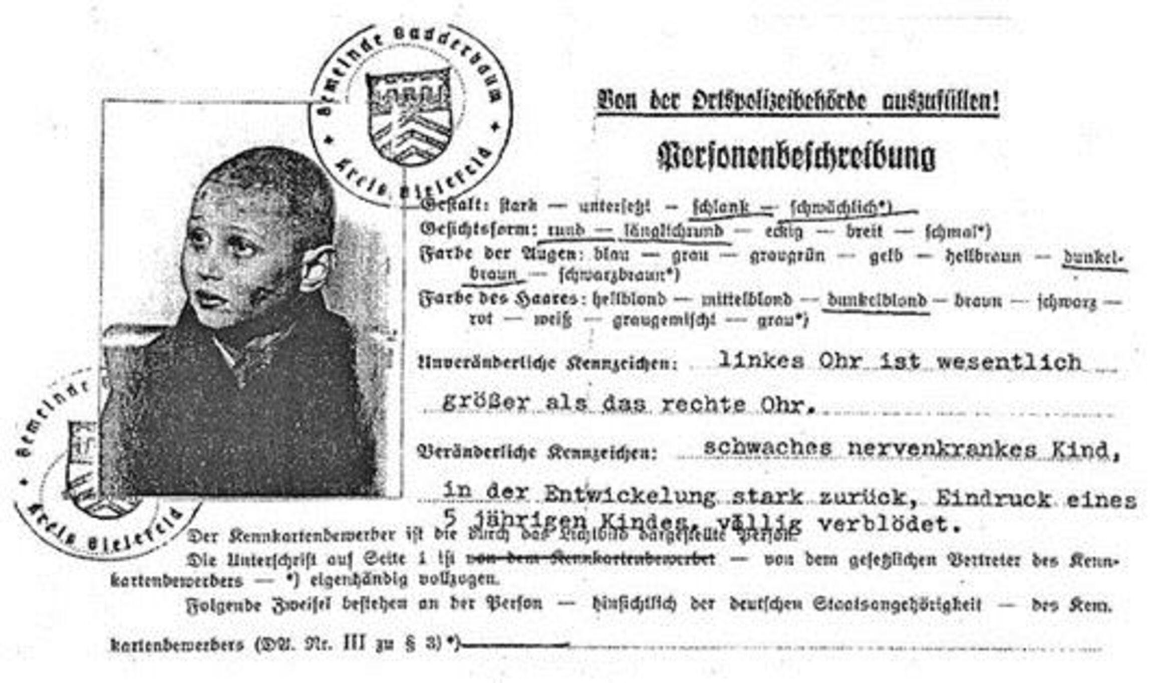 Personenbeschreibung Hermann Federmann