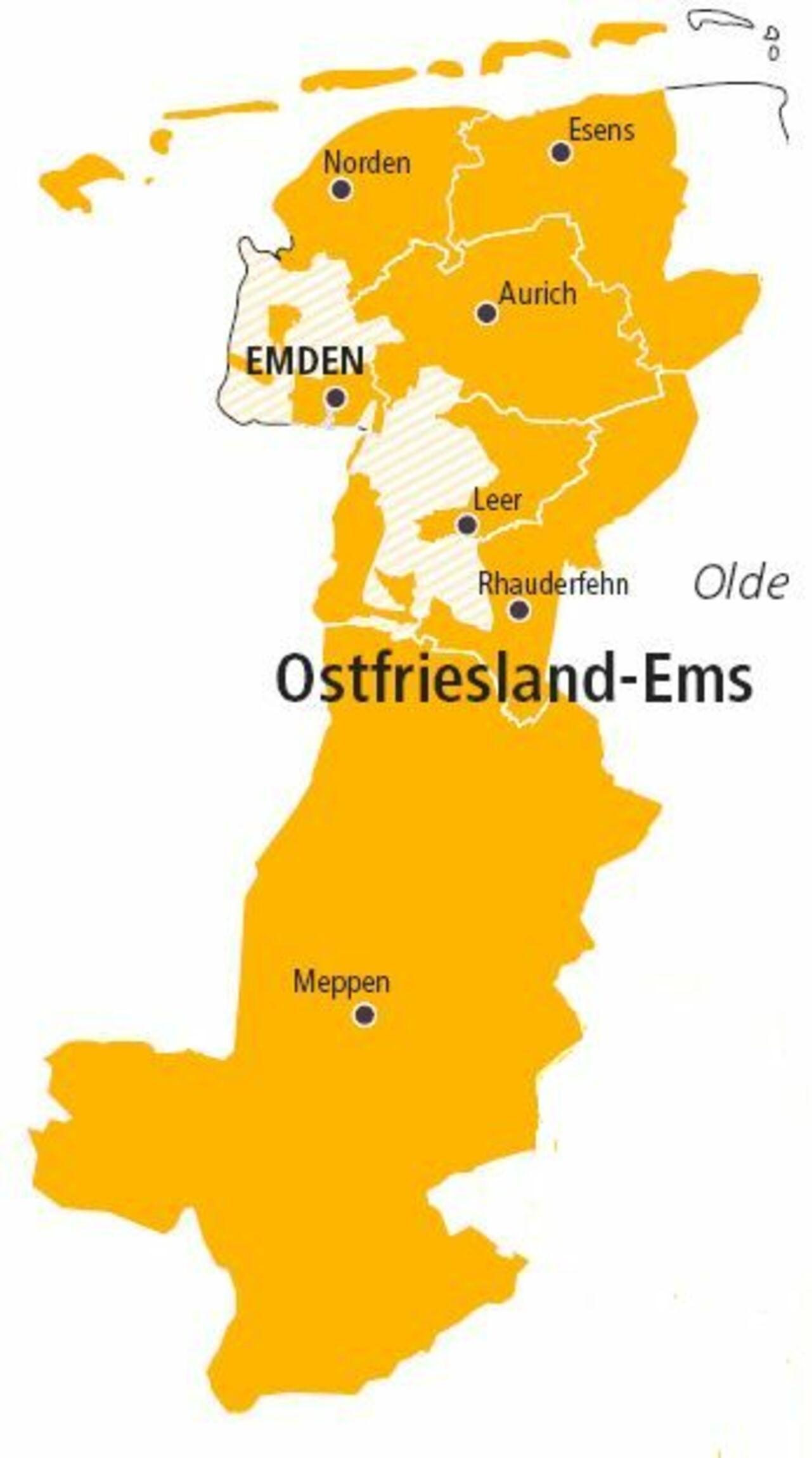 Sprengel Ostfriesland