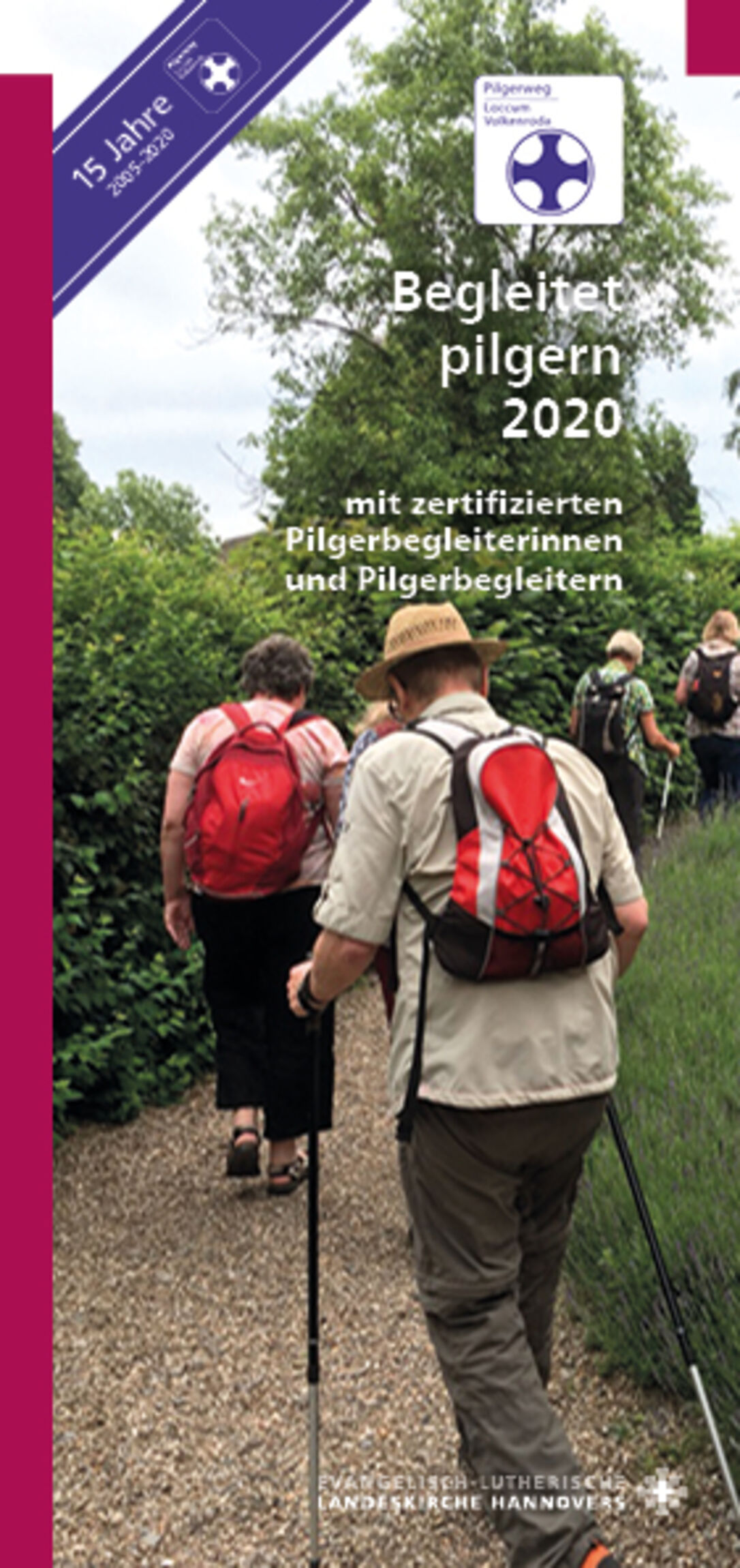 Titel Begleitet pilgern 2020