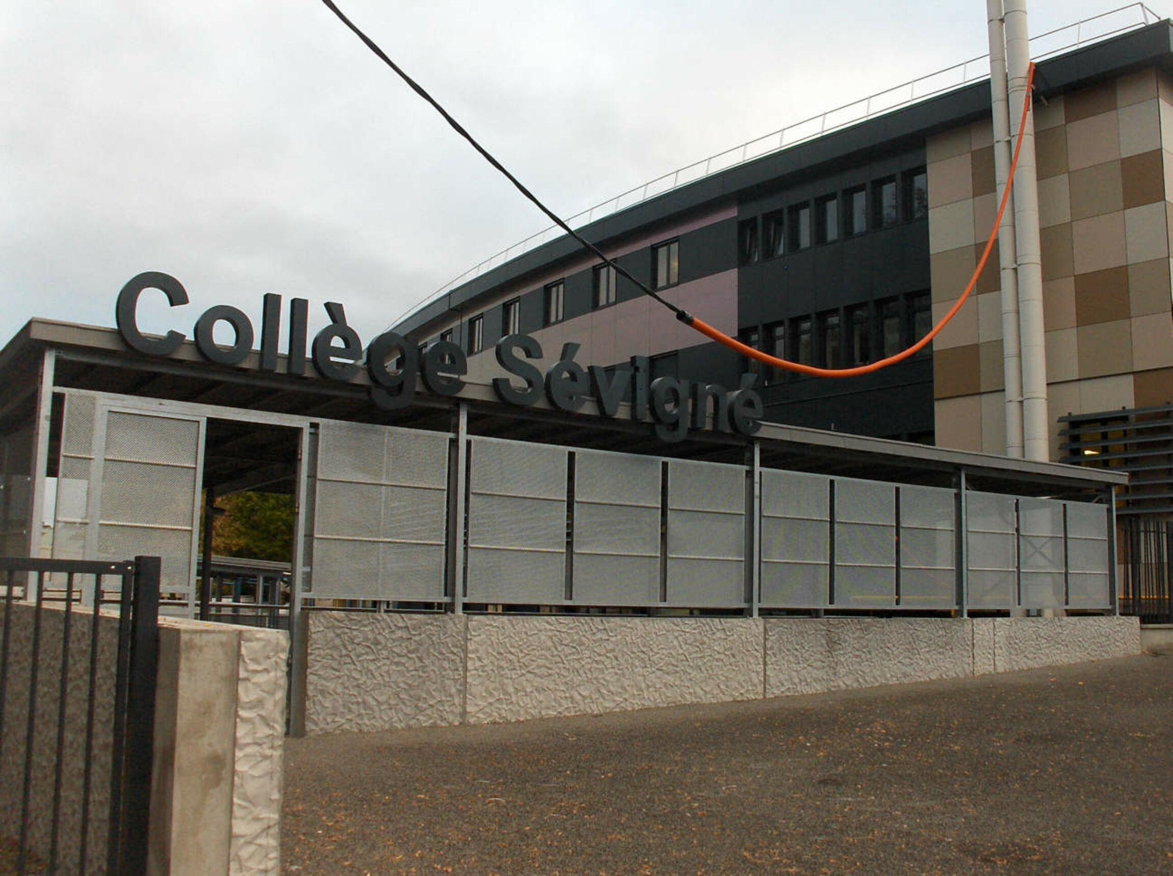 Collège Sévigné à Flers, Normandie