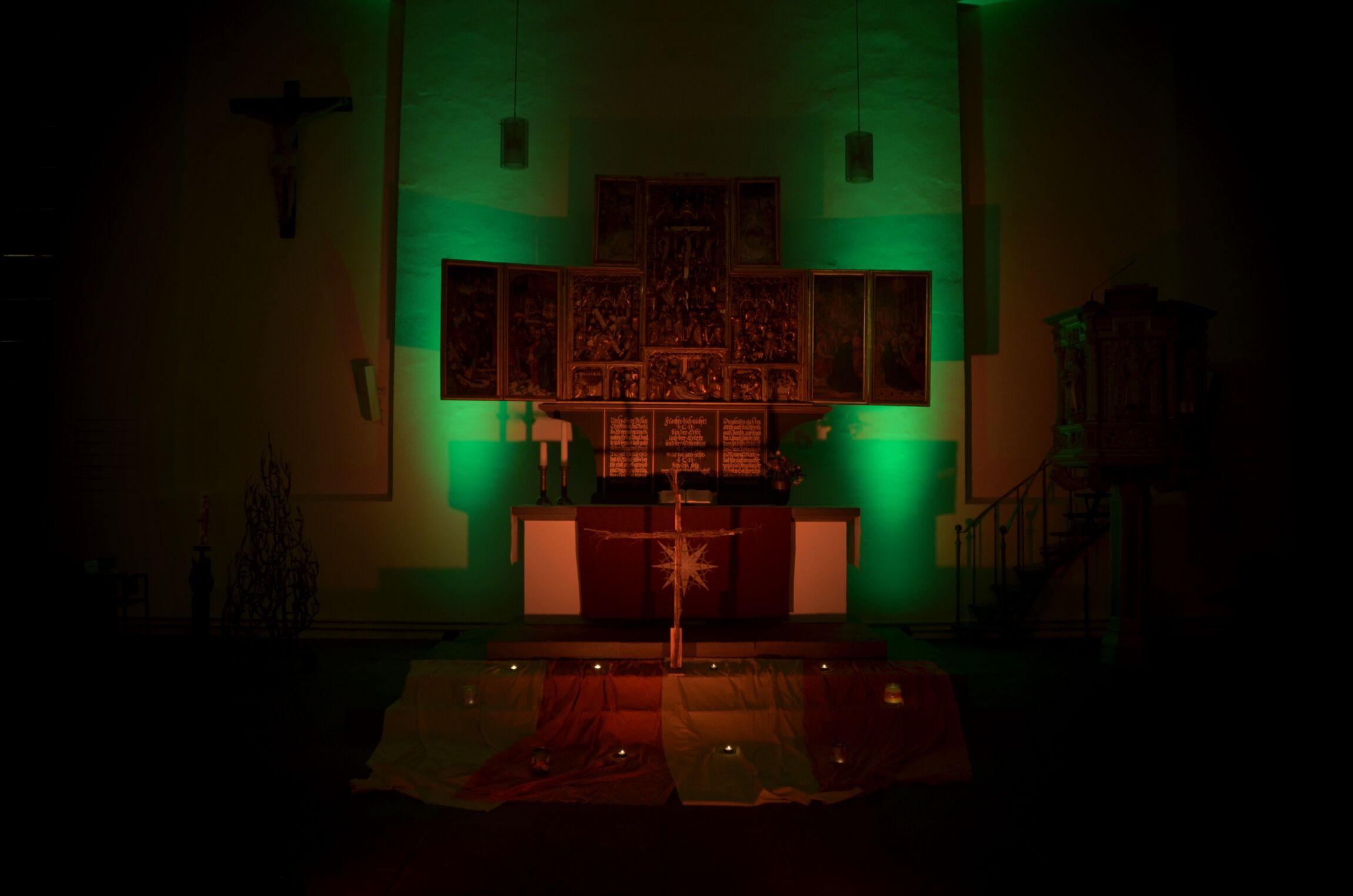 Altar in Illumination