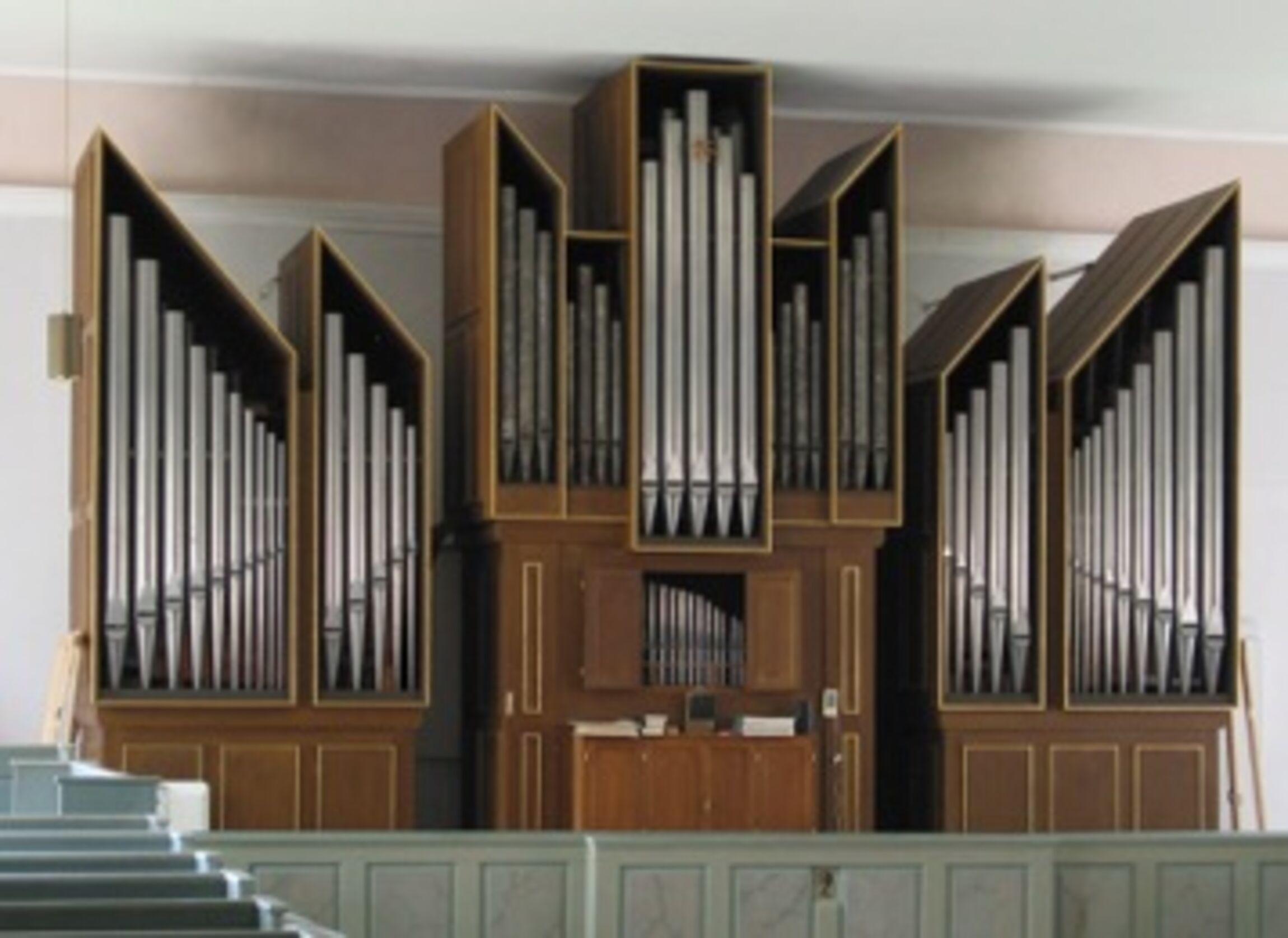 Orgel der Beverstedter Kirche
