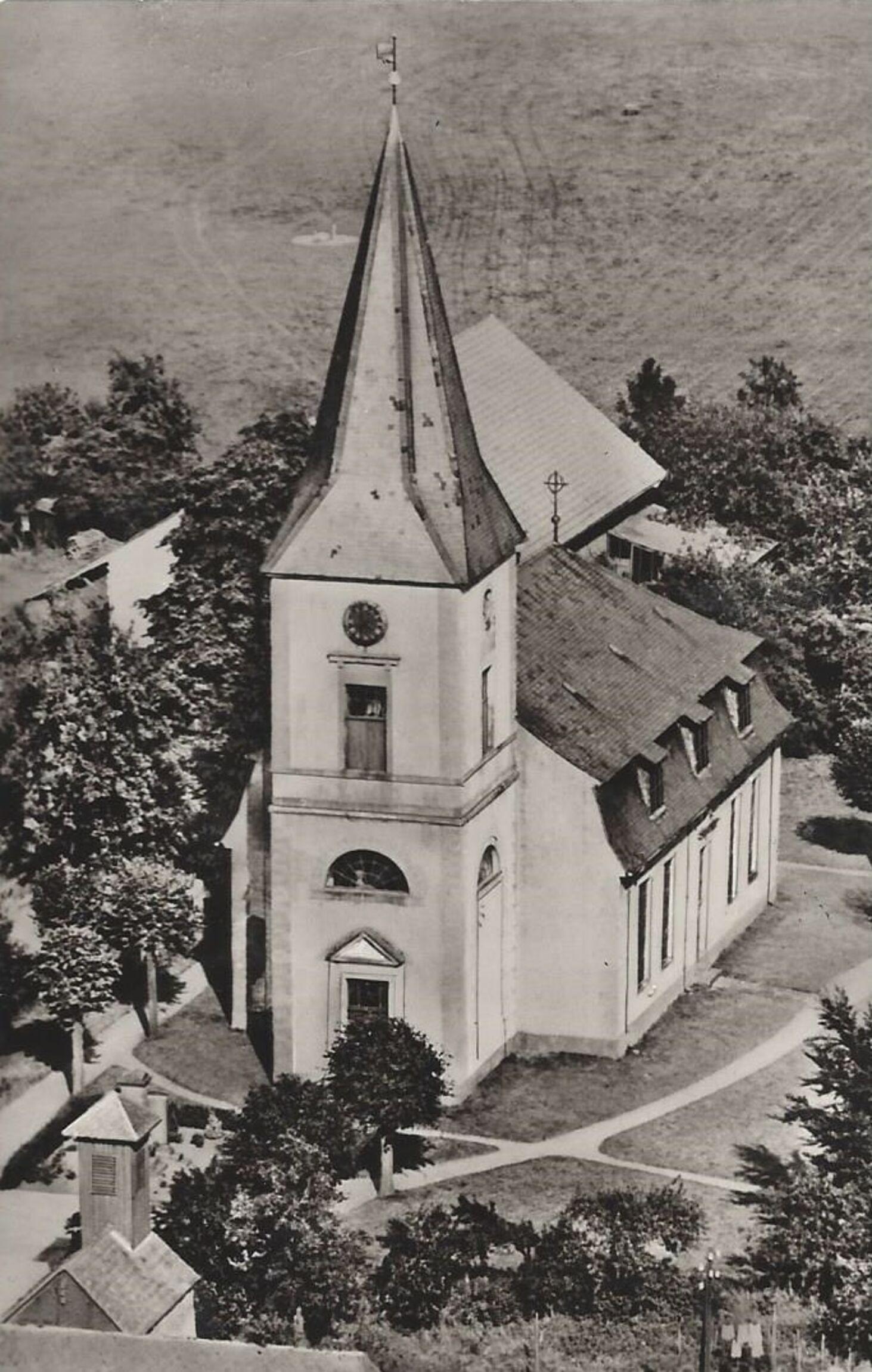 Kirche vor 1970