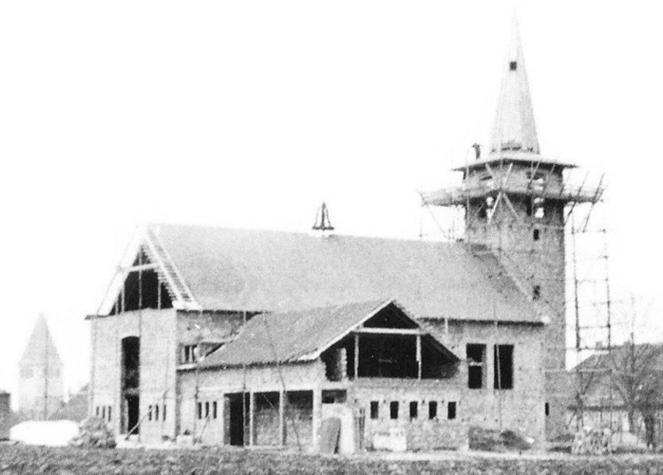 Kirche im Bau