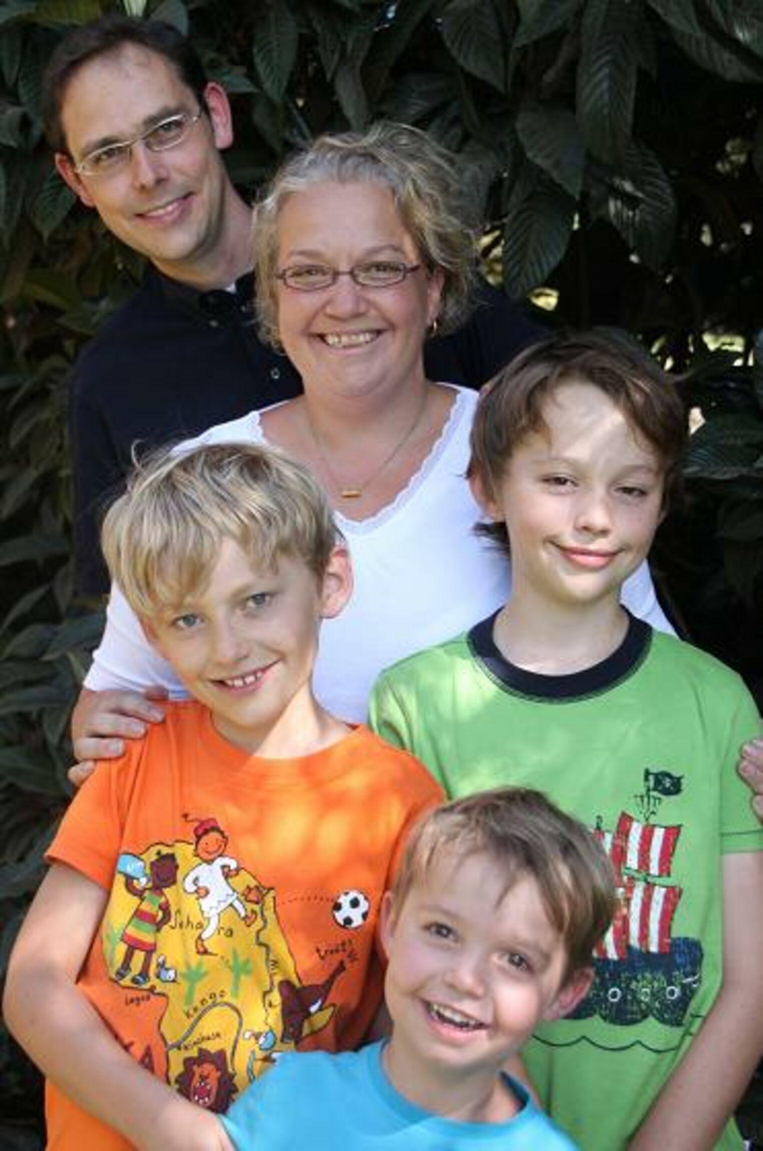 Neue Pastorenfamilie Schuerhoff