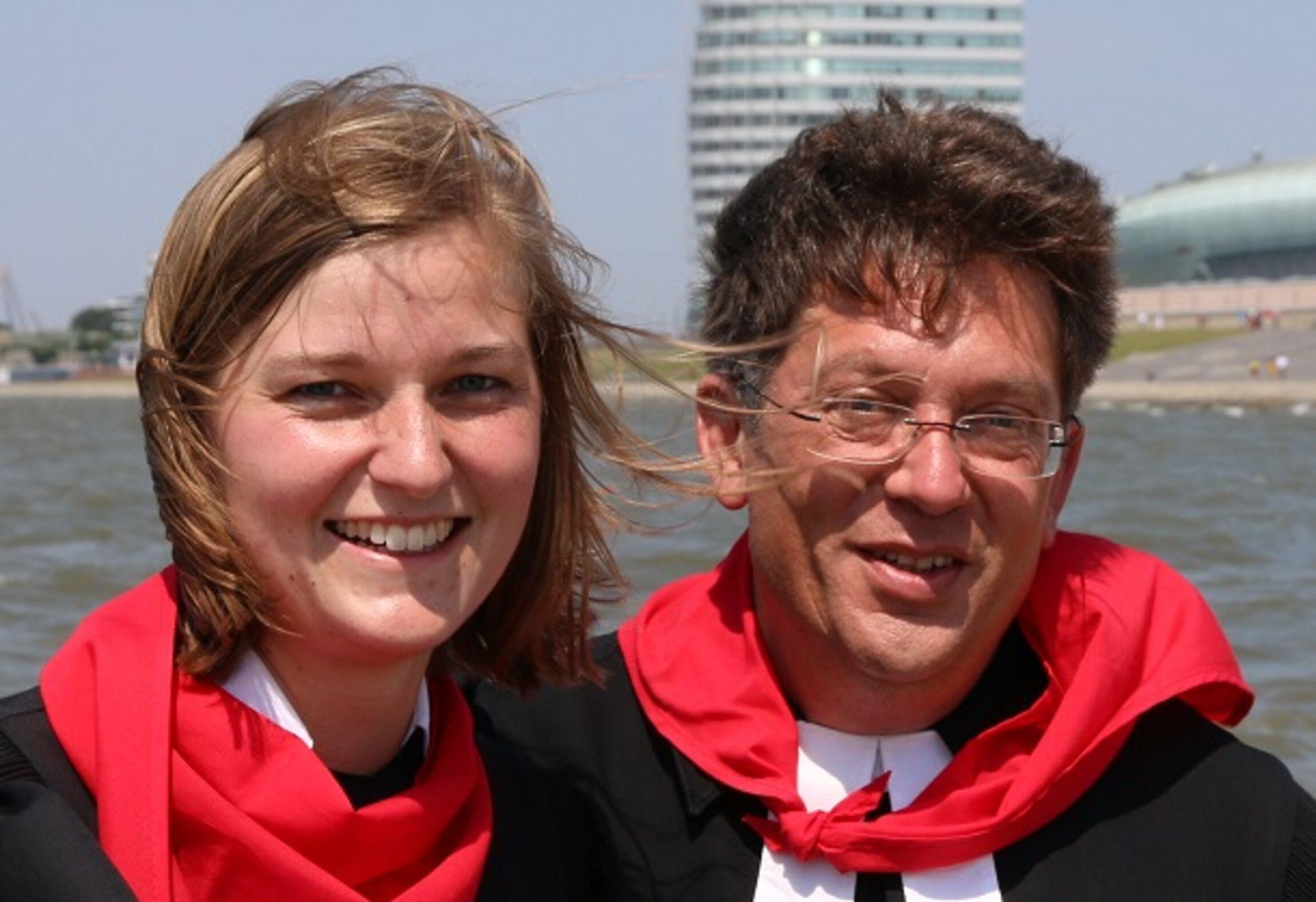 PastorinFriederike Köhn und Pastor Sebastian Ritter