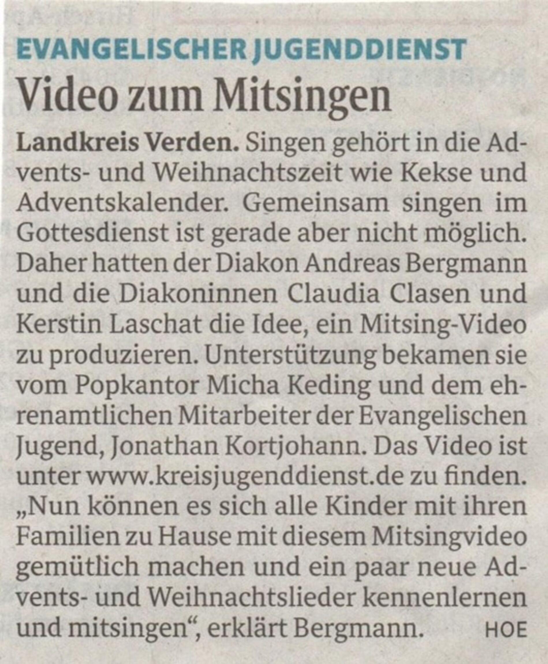 Mitsingvideo