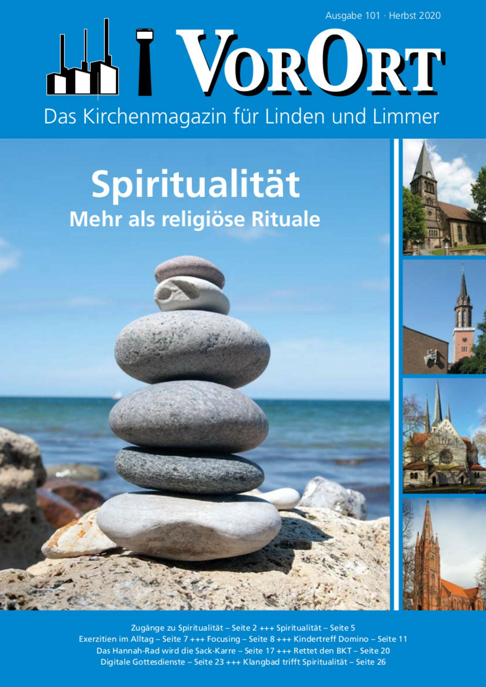 VorOrt 101 Titelblatt - Herbst 2020