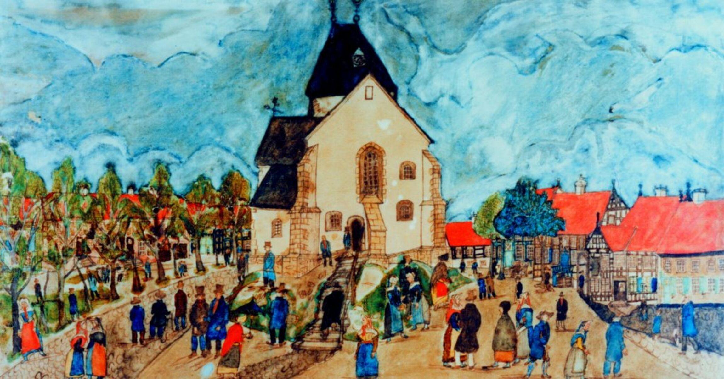 Alte Kirche Buer
