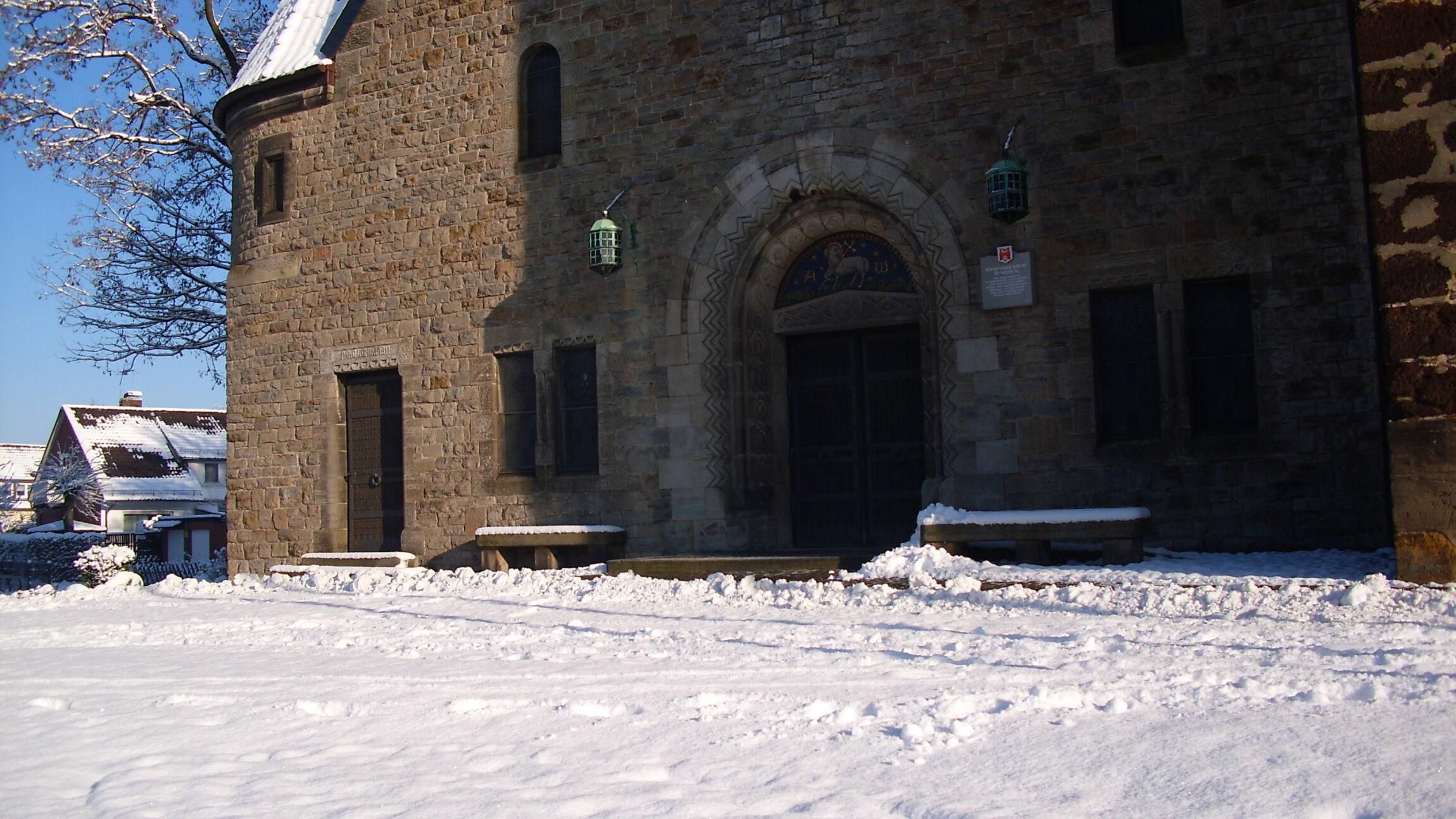St. Nicolai im Winter