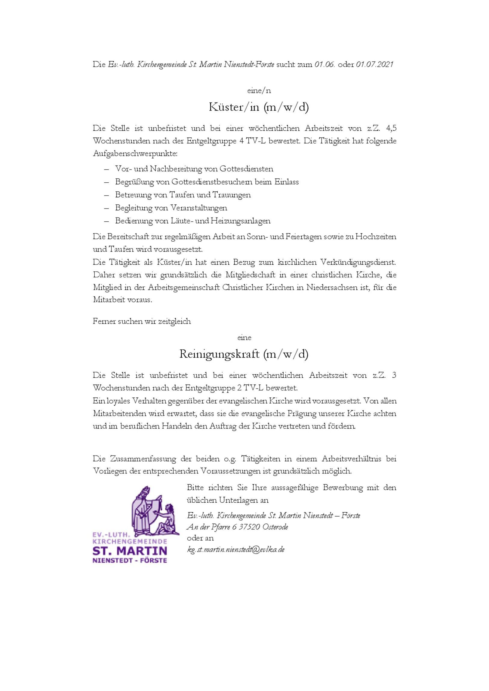2021-04-15-Stellenausschreibung