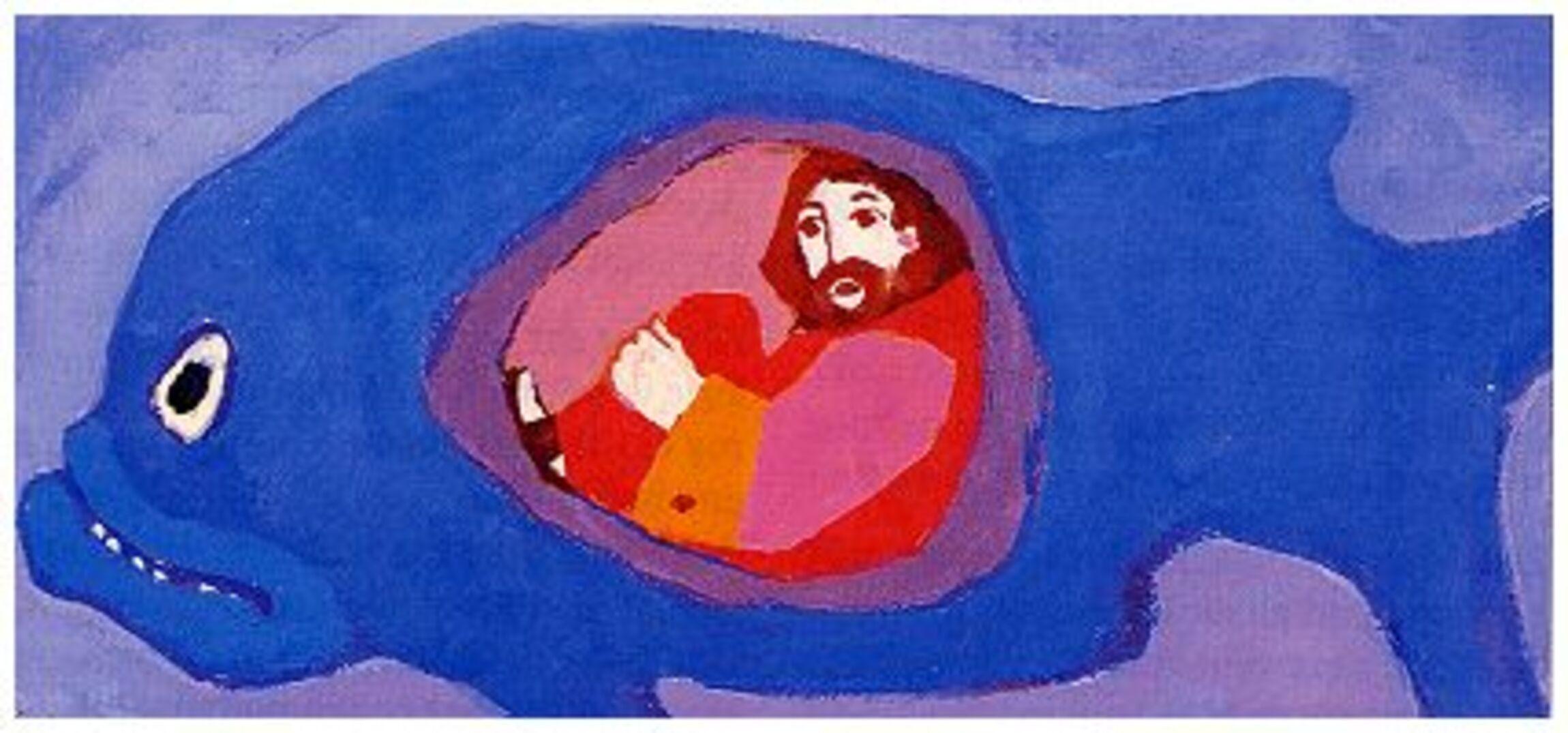 Kees de Kort - Jona im Bauch des Fischs - Neukirchener Kinderbibel