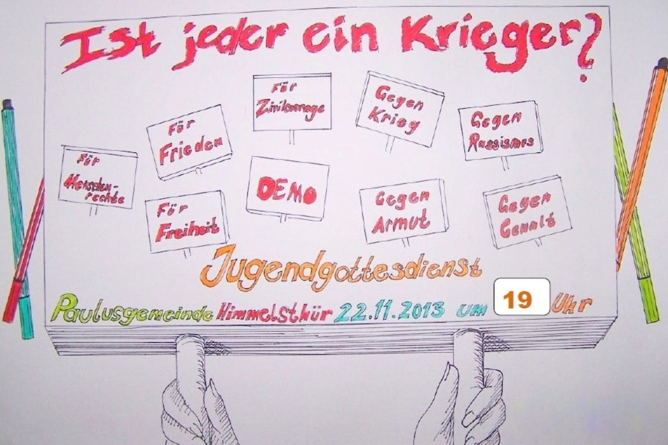 Plakat Jugendgottesdienst