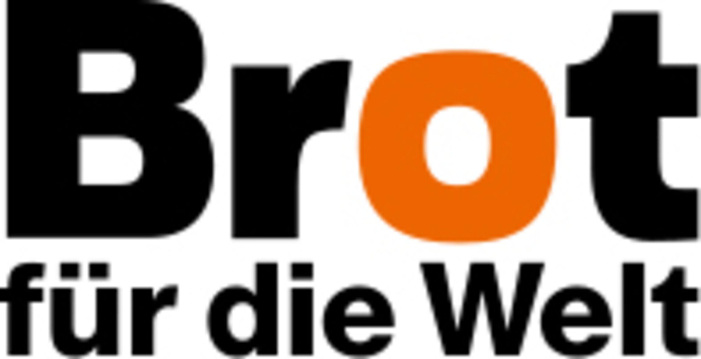 Brot für die Welt - Logo mit weißem Hintergrund
