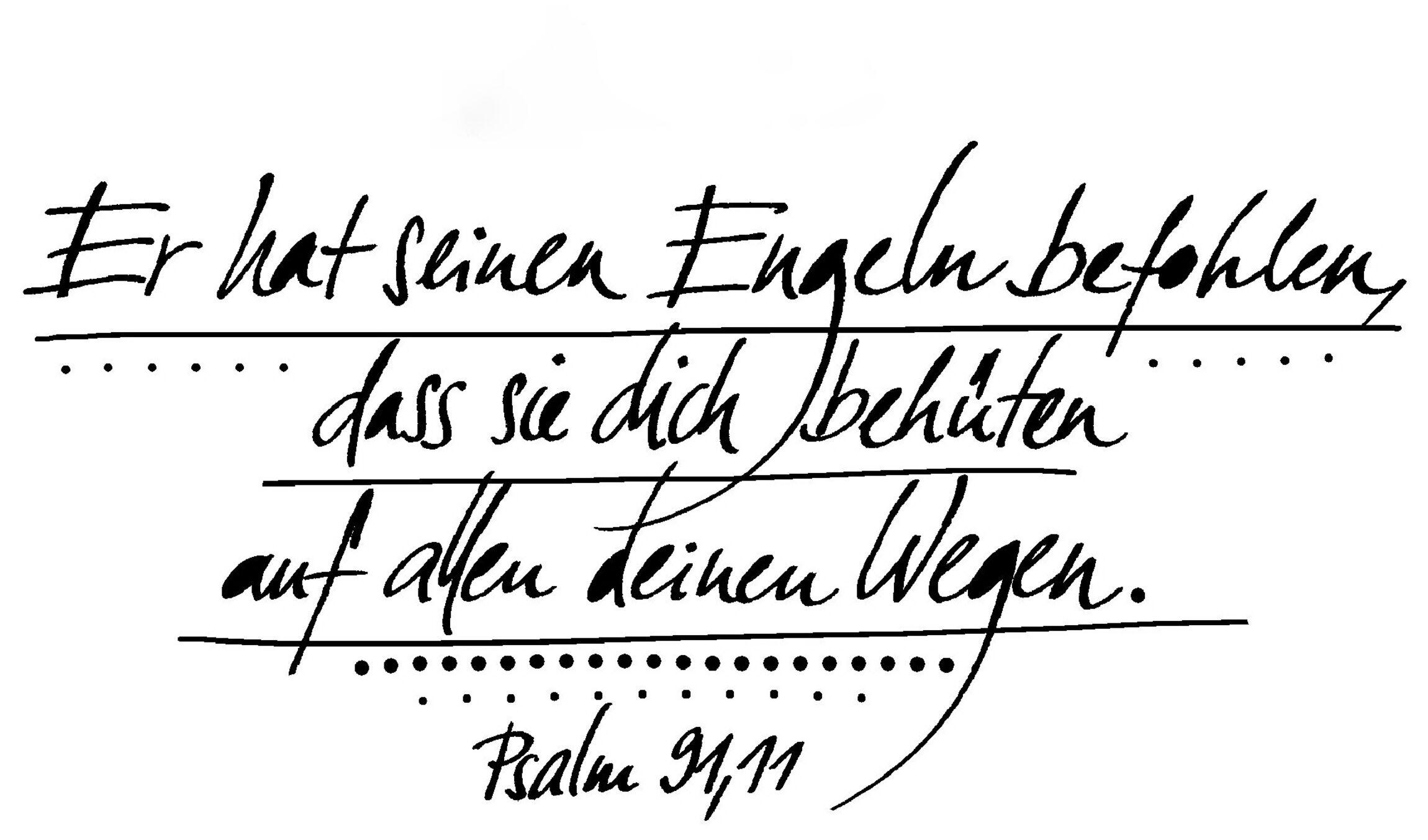 Schutzengel - Psalm 91,11