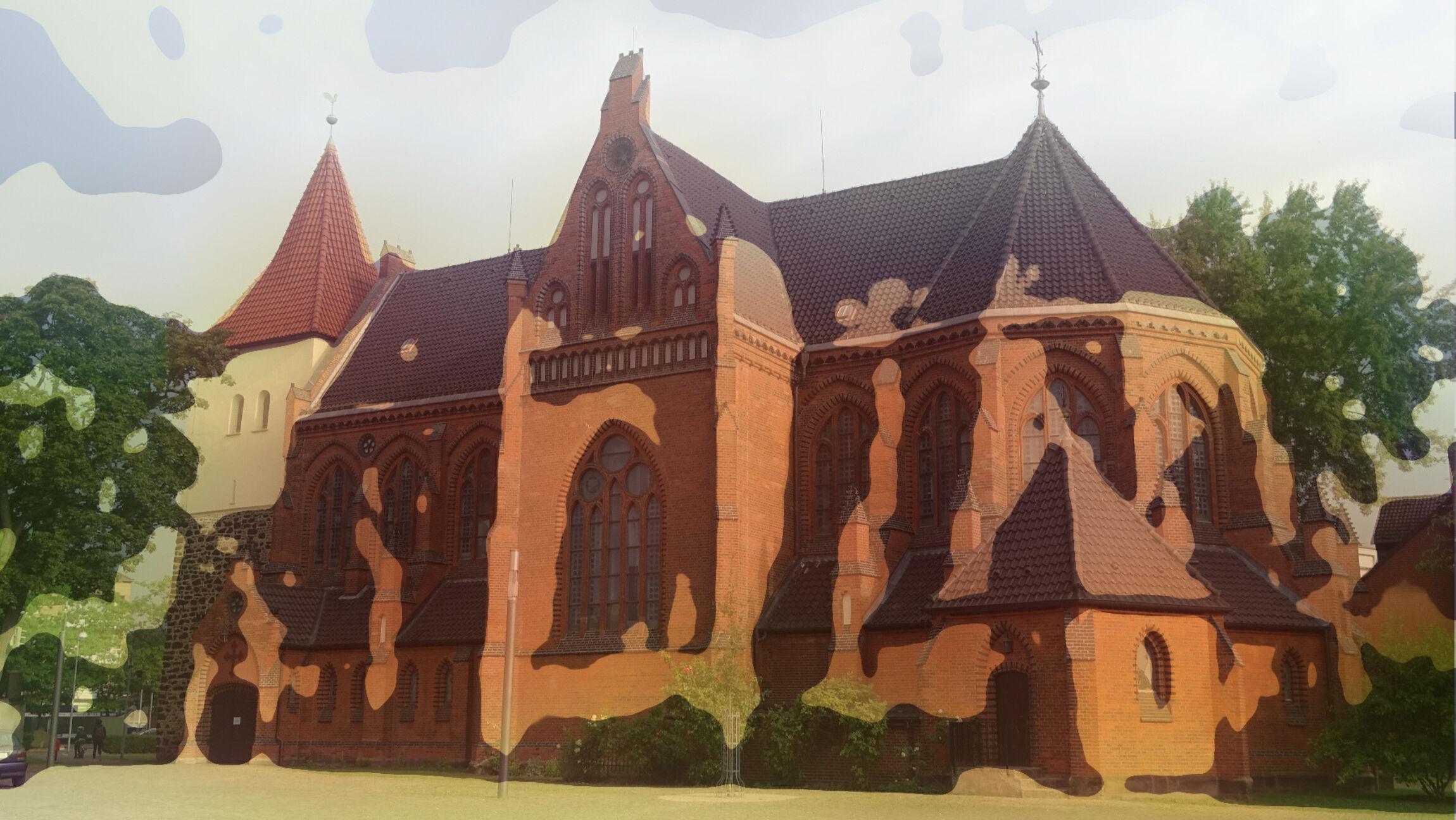 Elisabethkirche - verfremdet