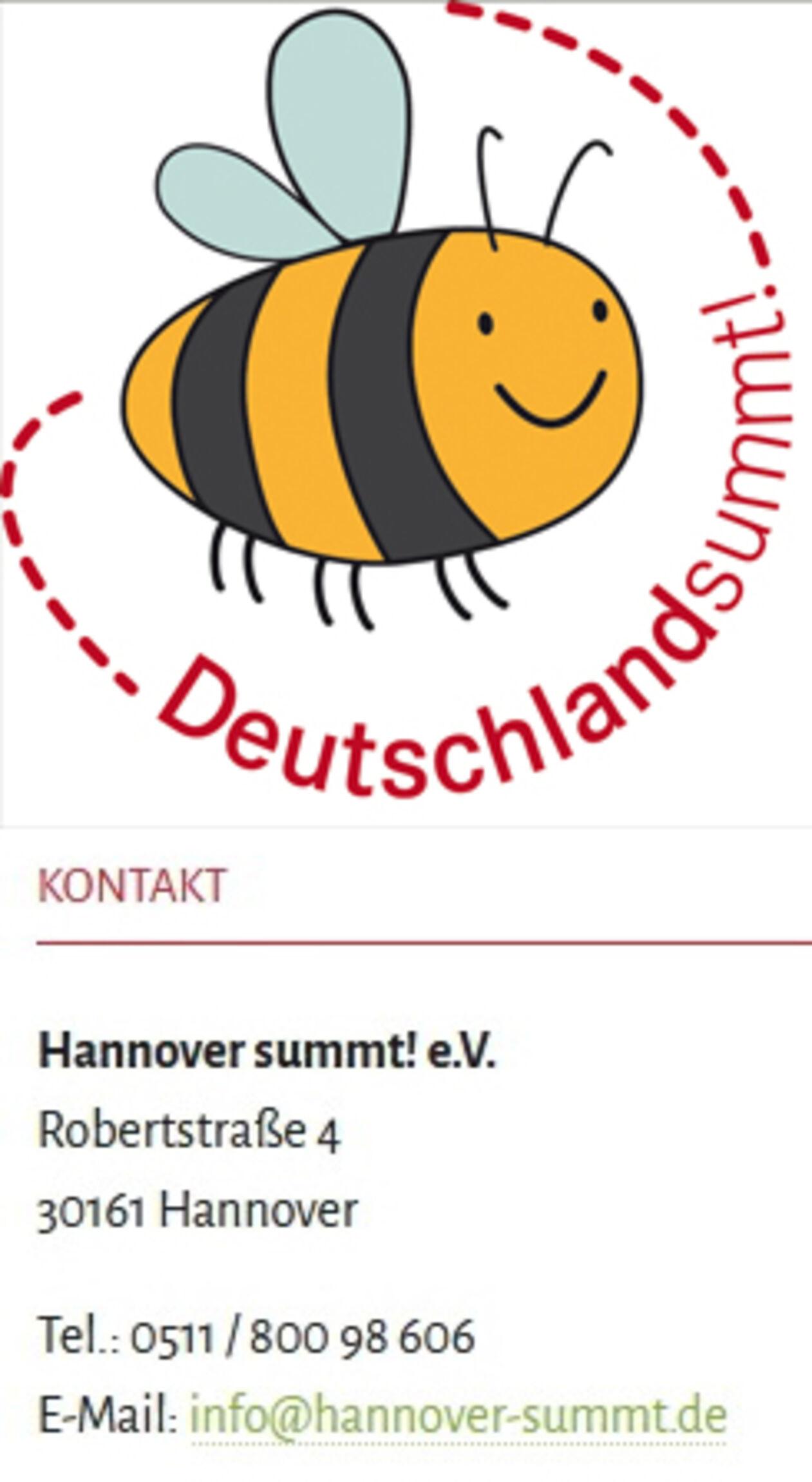 Hannover summt - Logo & Adresse