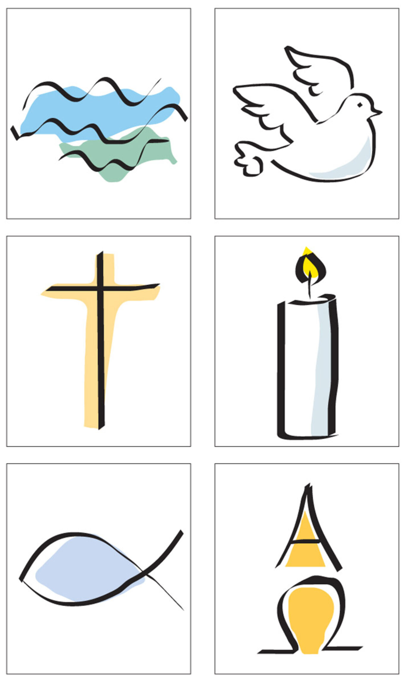 Taufe Zeichen