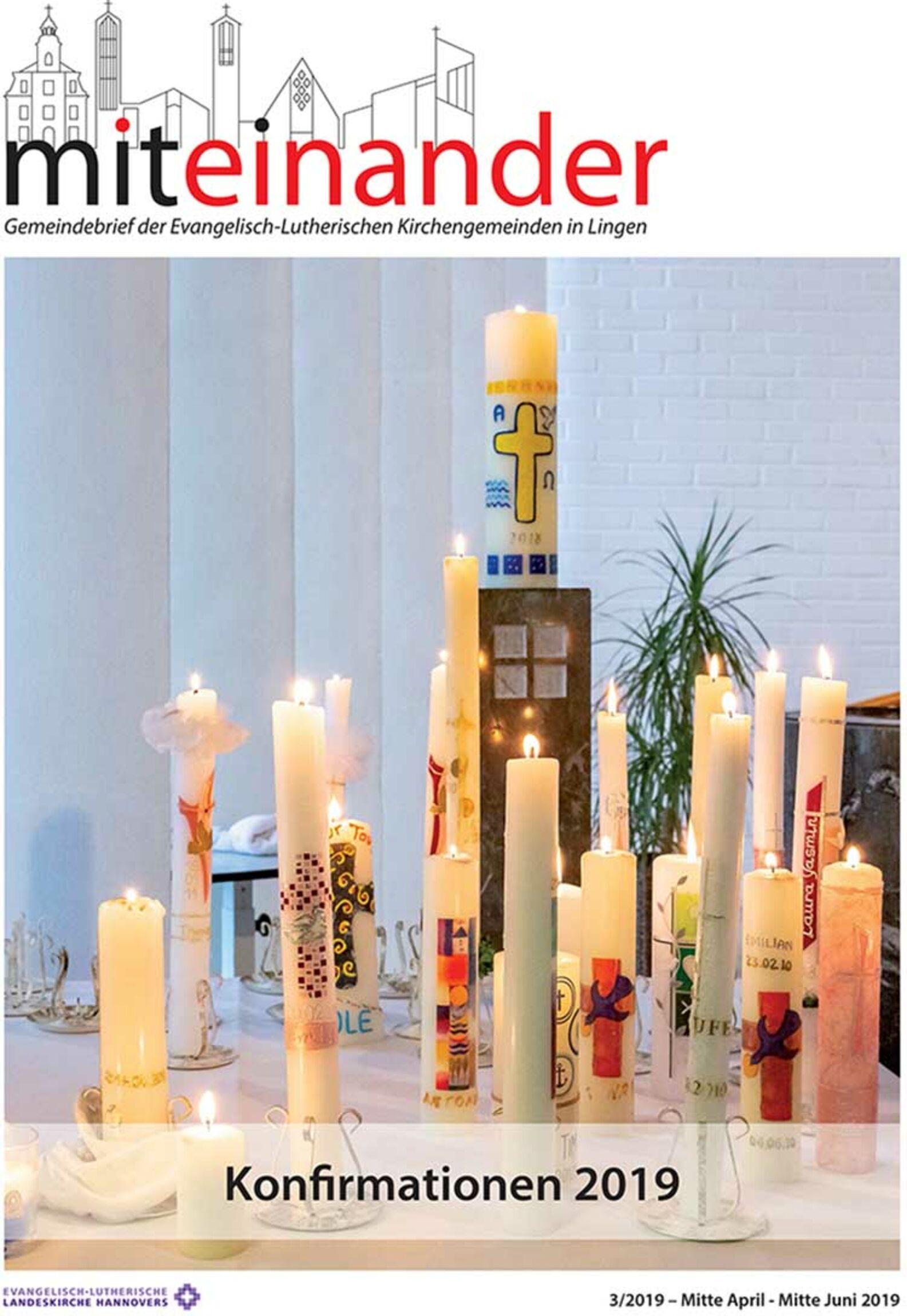 Titelblatt Gemeindebrief 03 2019