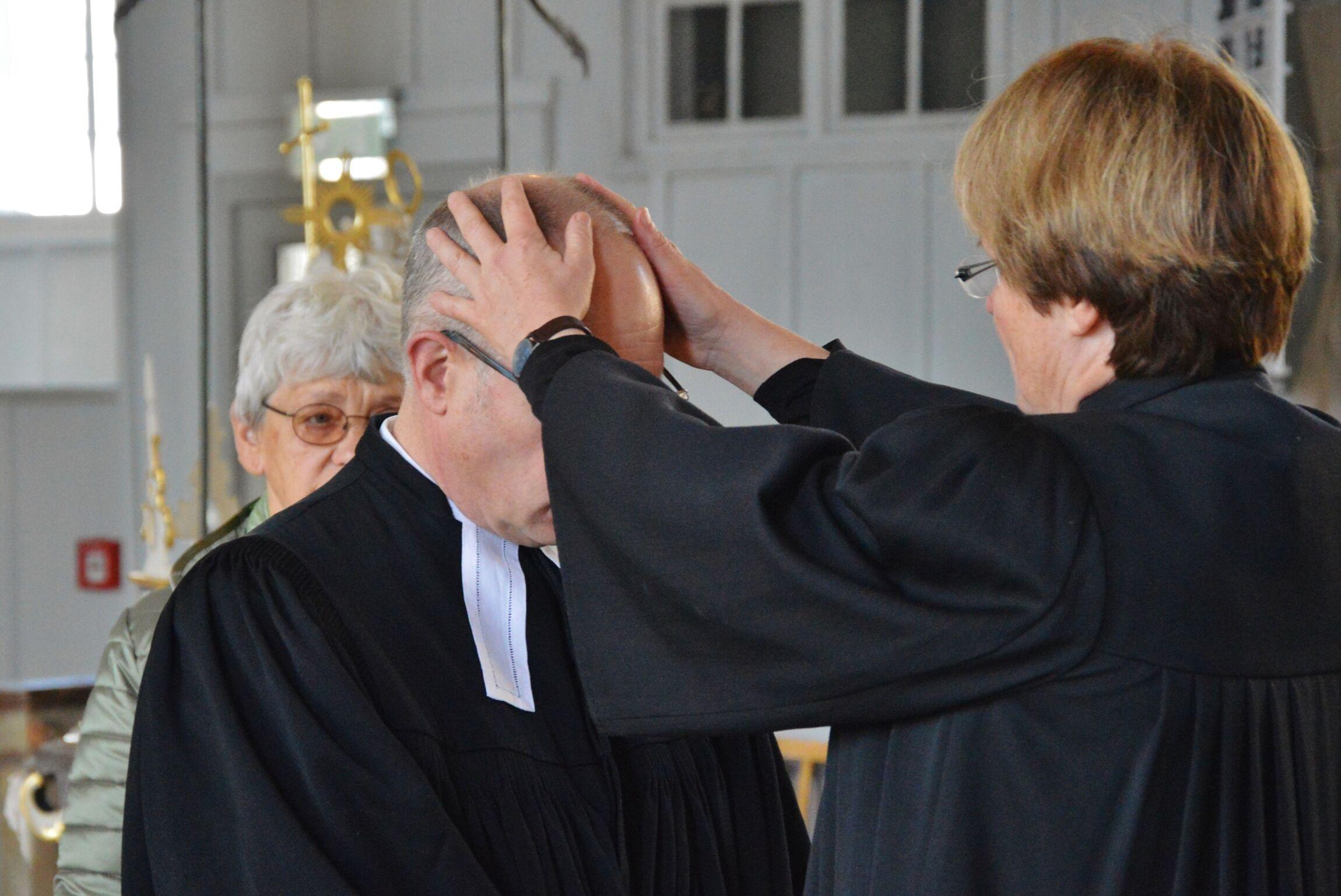 Walter Merz ist nun offiziell Pastor für St. Andreasb