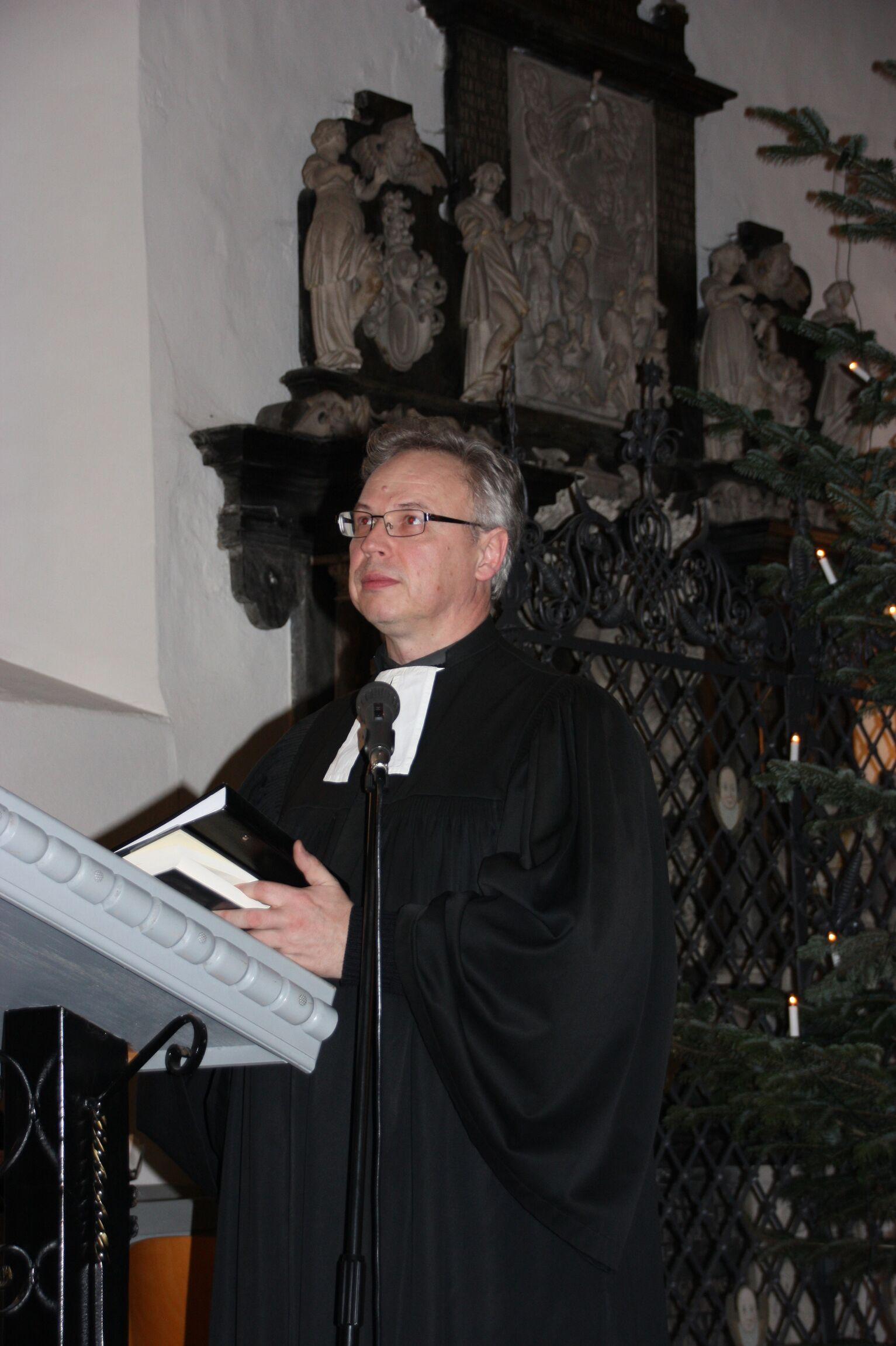 Pastor Jens-Arne Edelmann