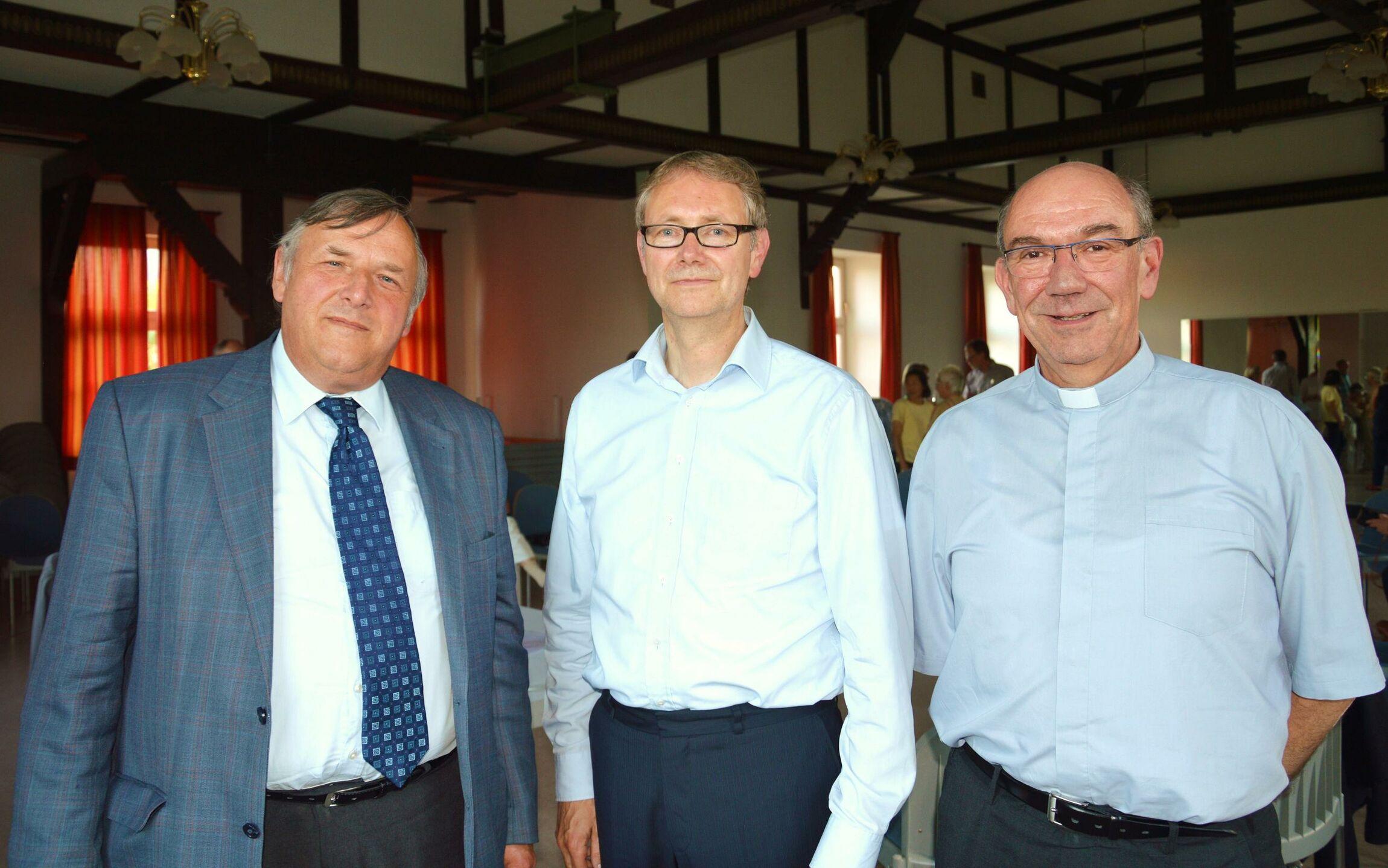 Superintendent Keil Professor Manemann Propst Galluschke