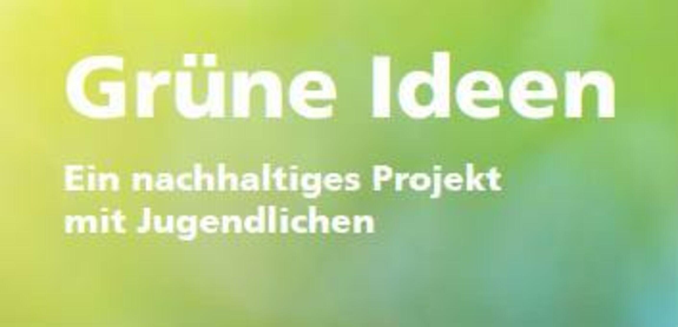 Grⁿne Ideen 2015