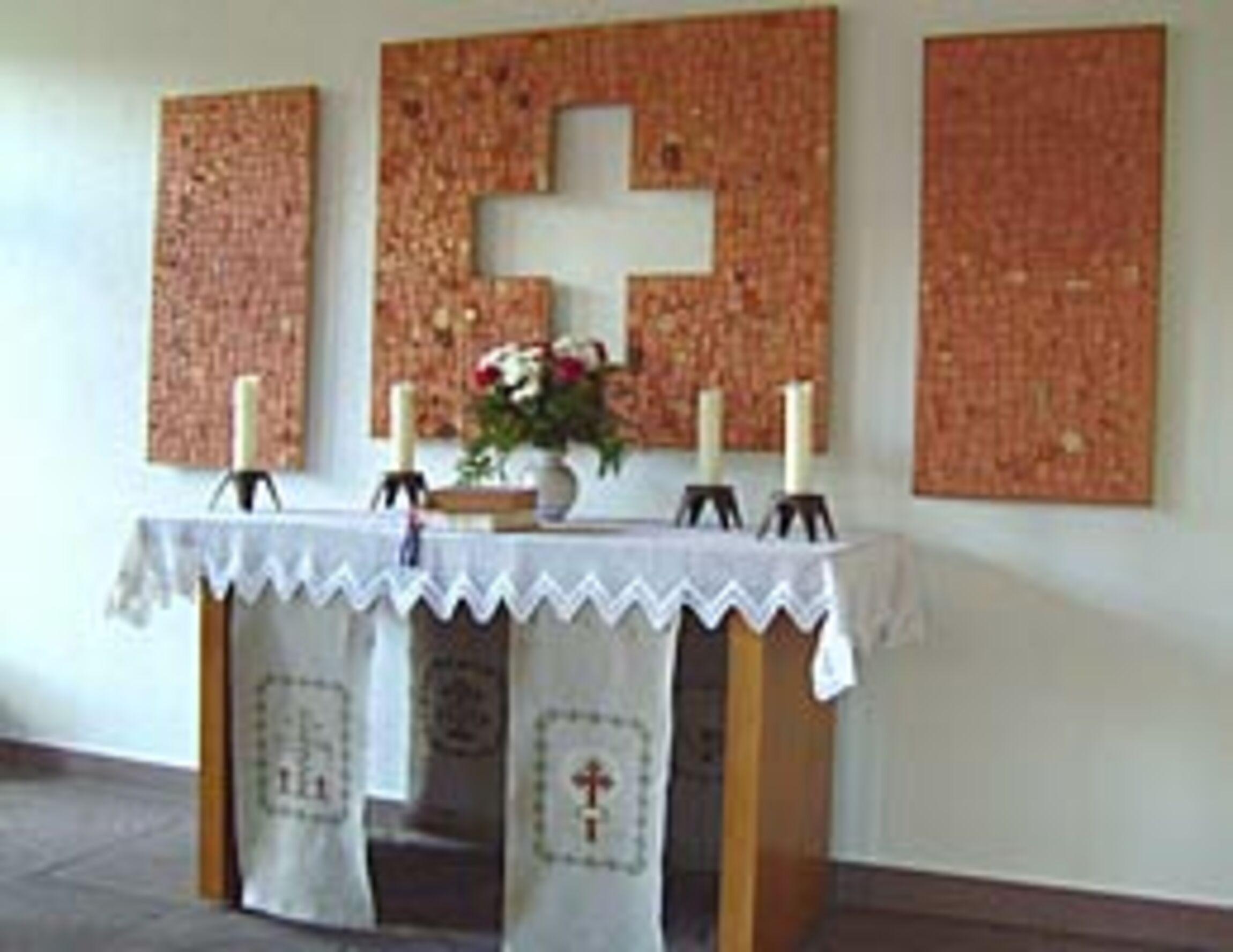 wiesede altar