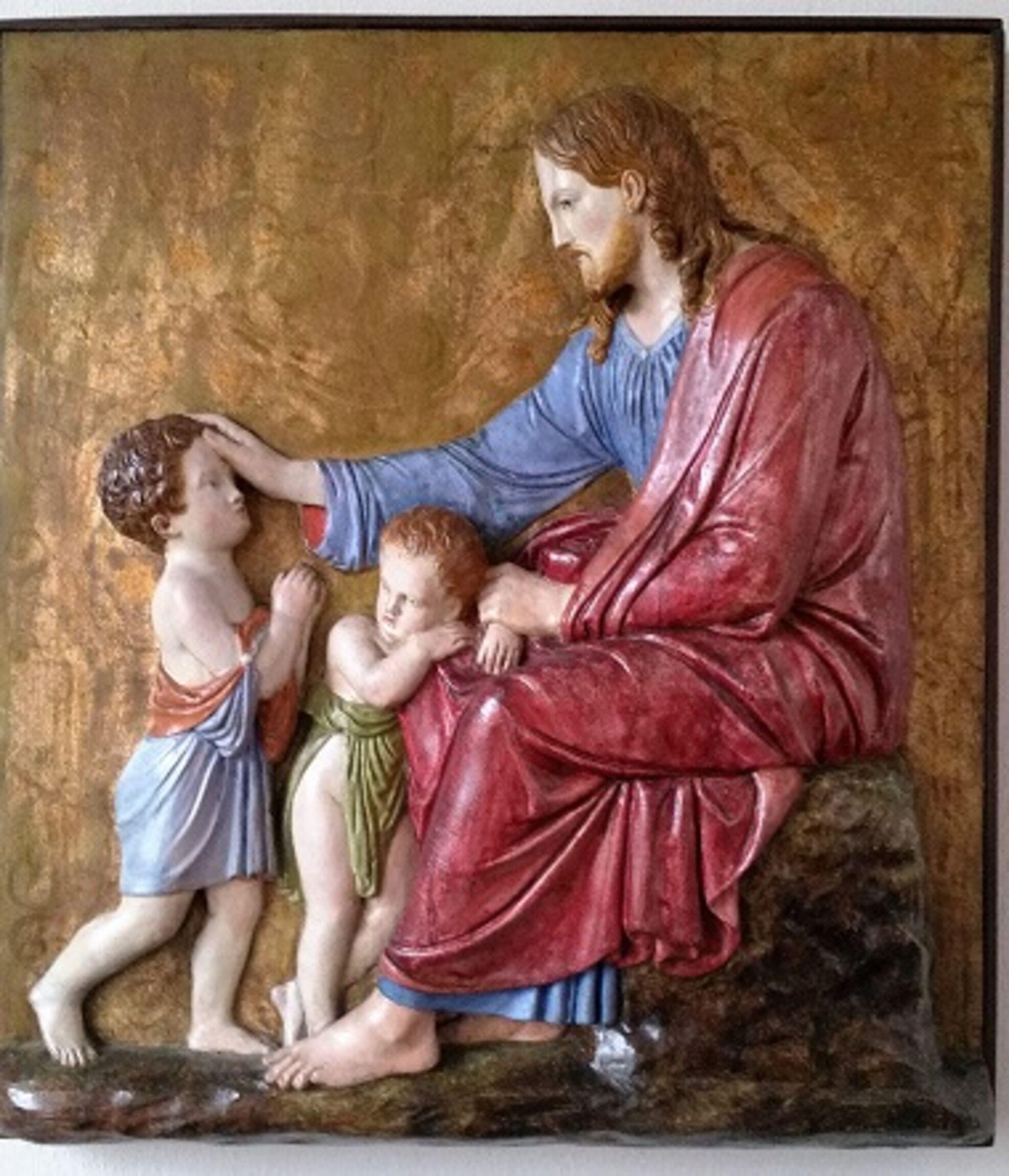 Bild Jesus mit Kind neu