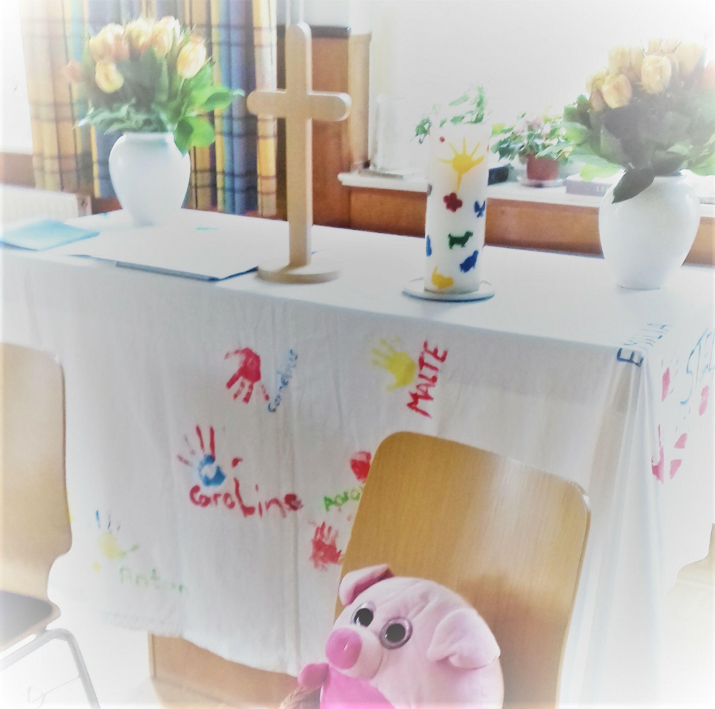 Krabbelgottesdienst für Zuhause; Foto: S. Laskowski