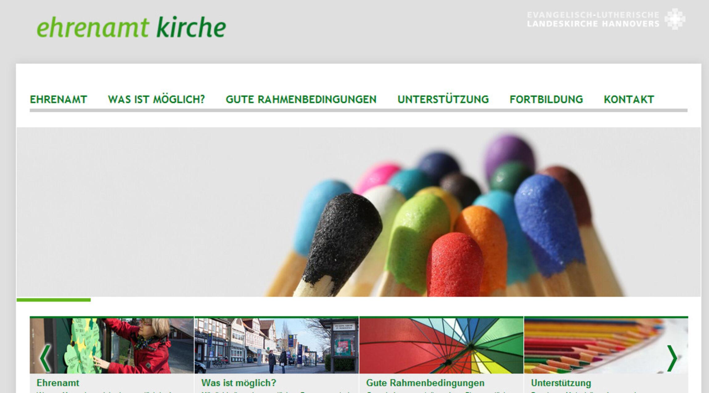ehrenamt kriche website