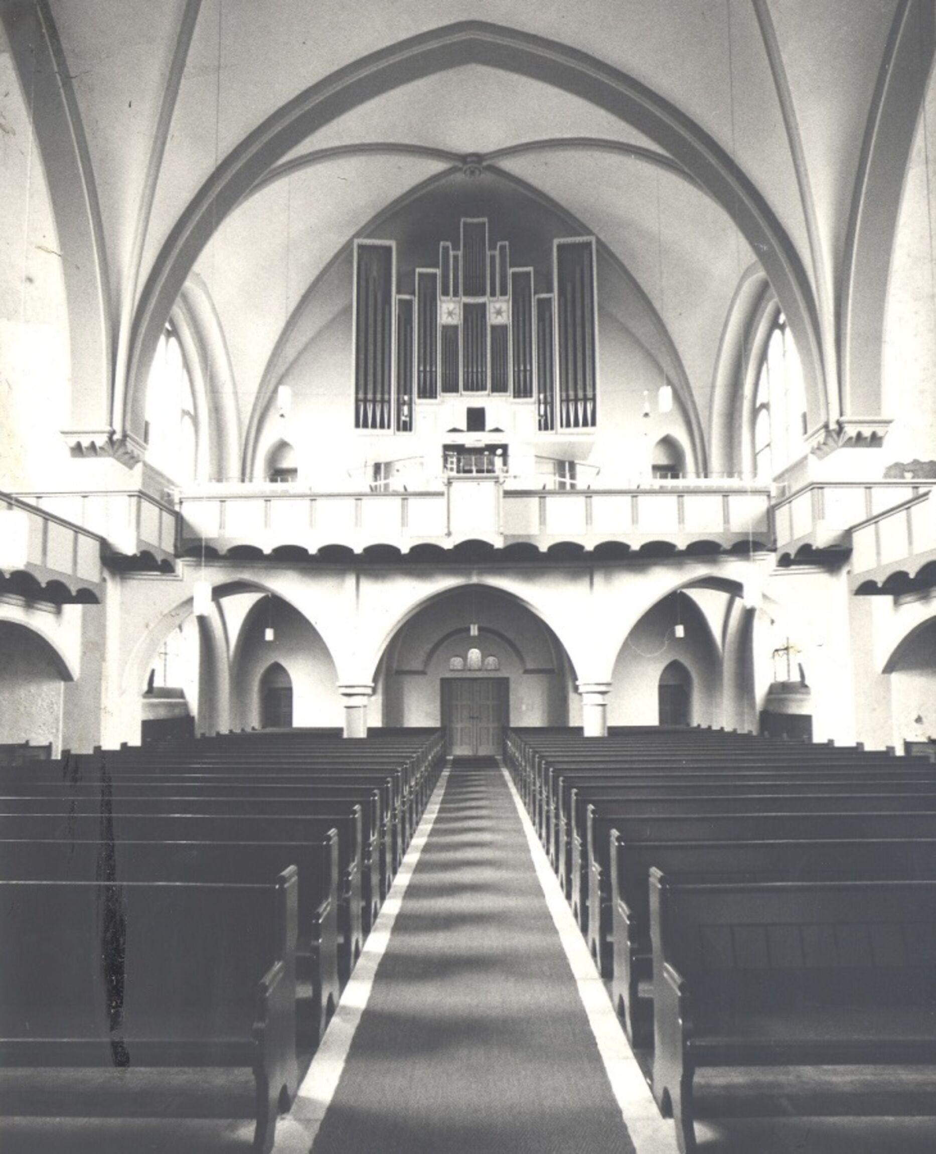 Zweite Orgel 1967