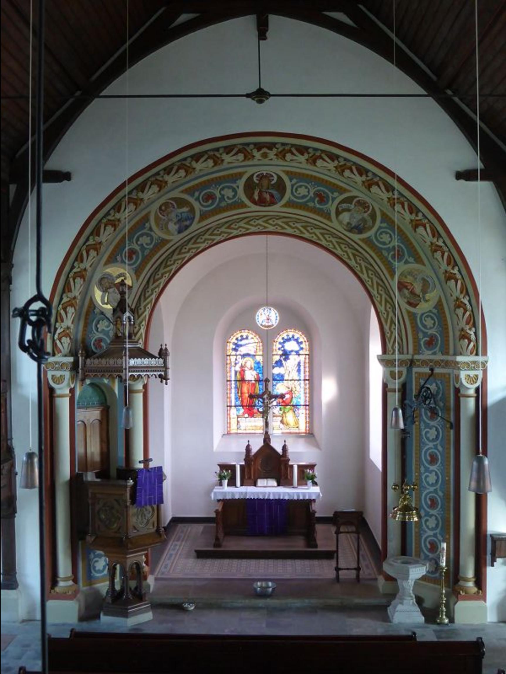 Altarraum -groß