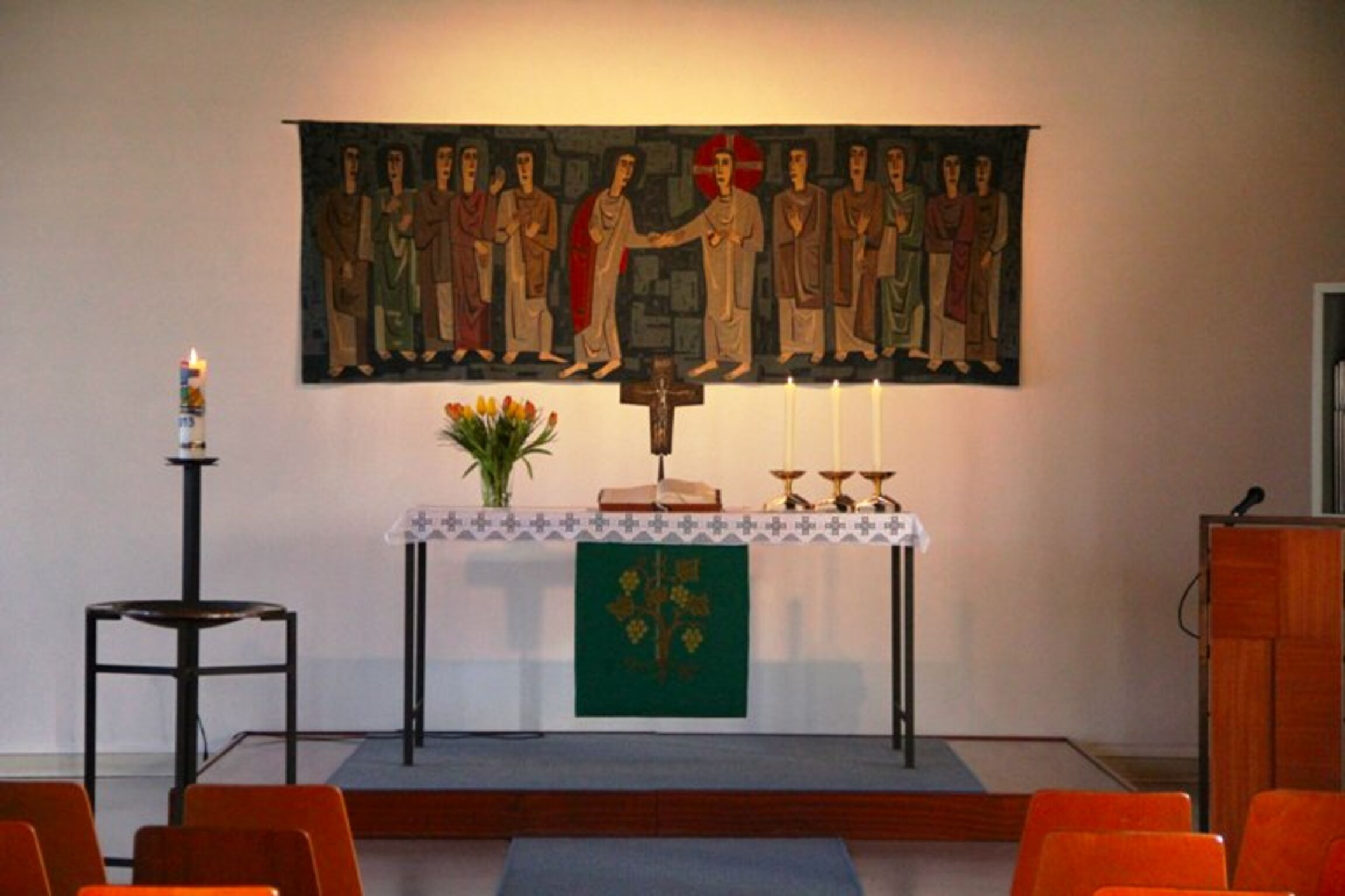 Thomas-Kirche Altarraum