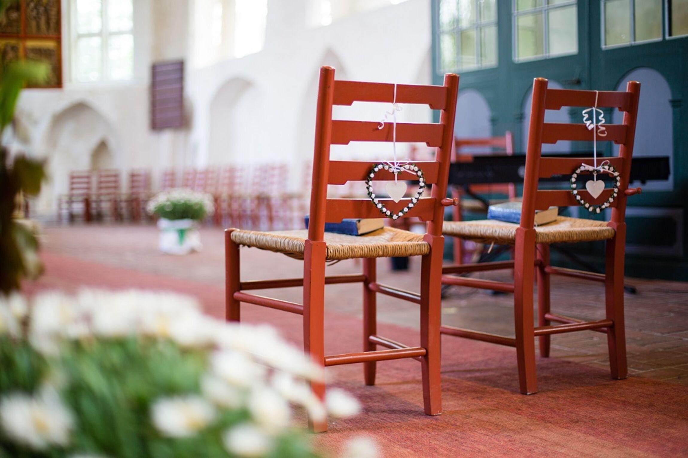 Brautpaar-Stühle
