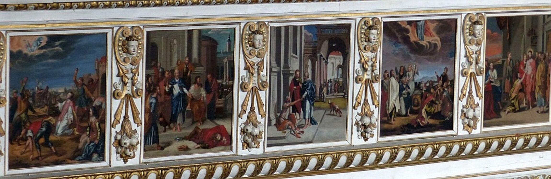 Bildergalerie NT -Nordempore- Ende 17. Jahrhundert