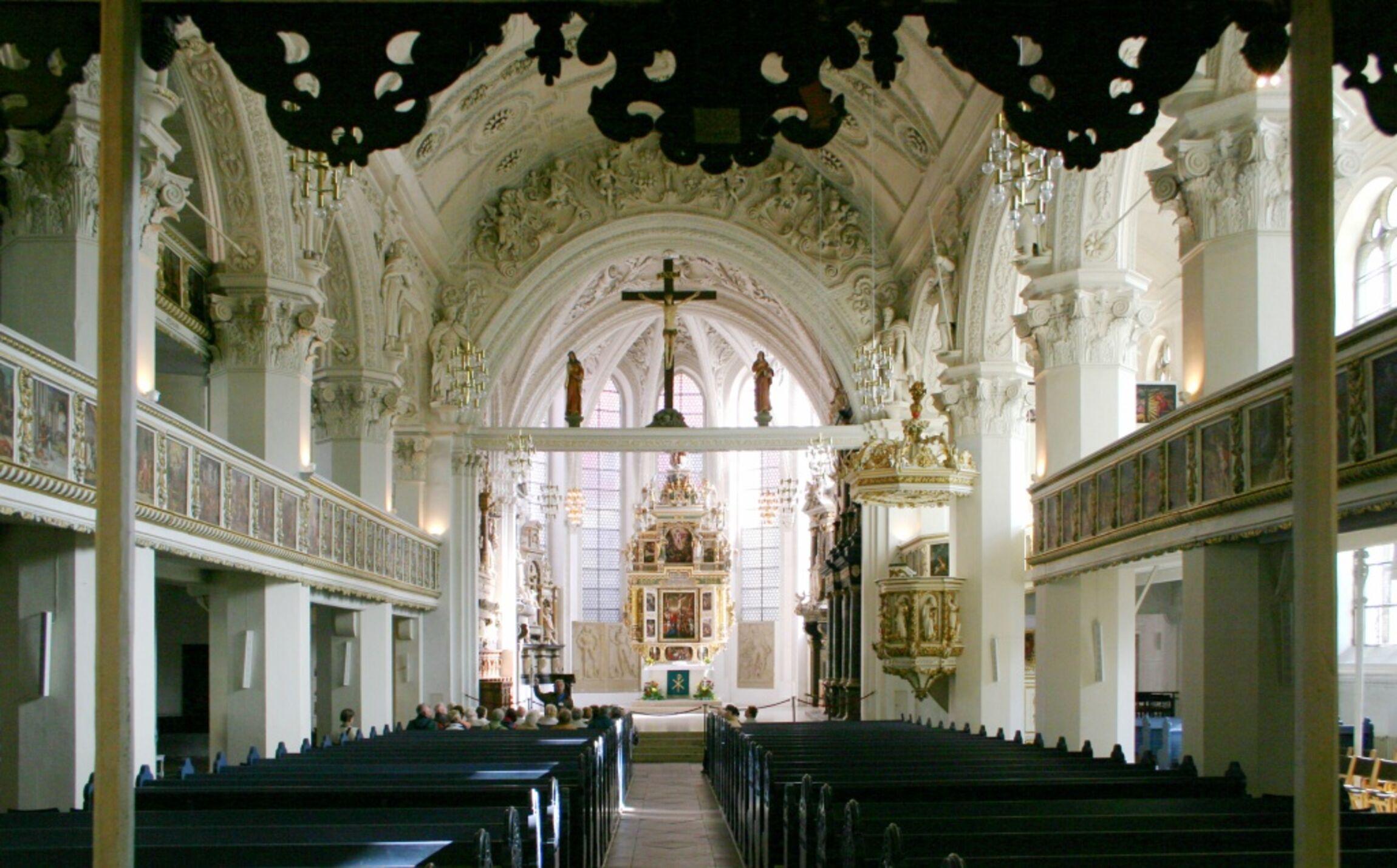 Innenansicht der Stadtkirche