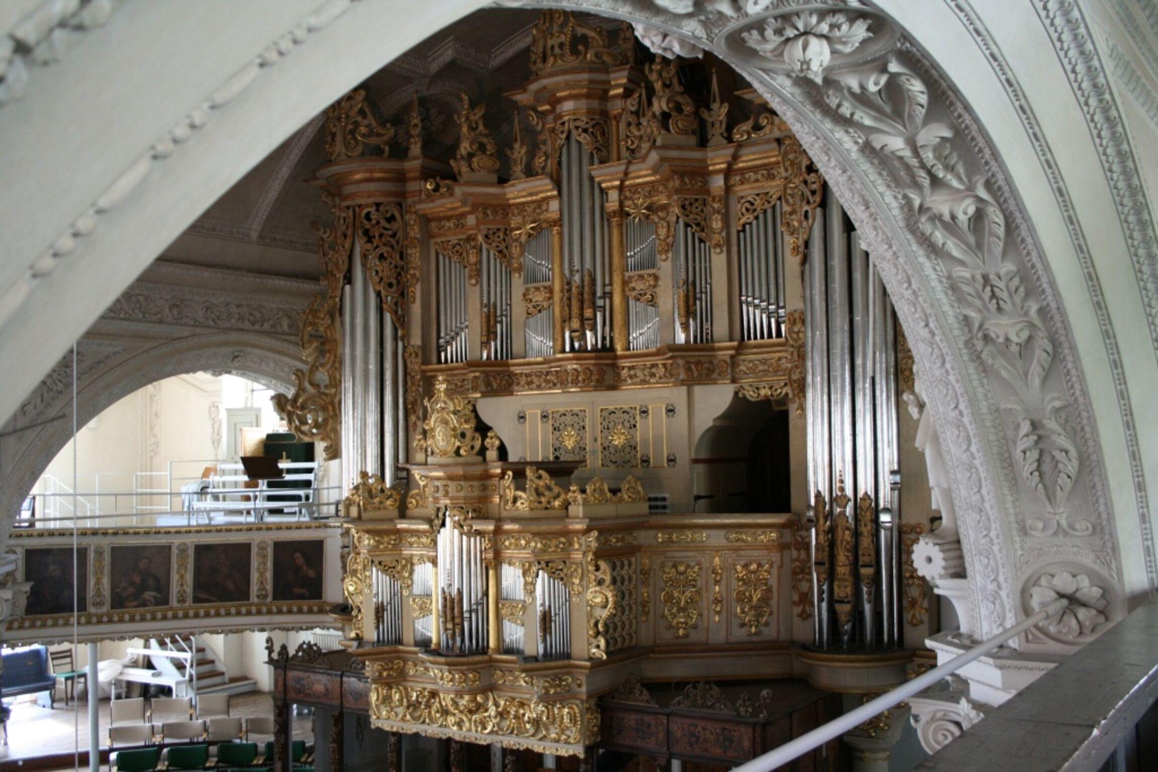 Orgelprospekt von 1653-1697