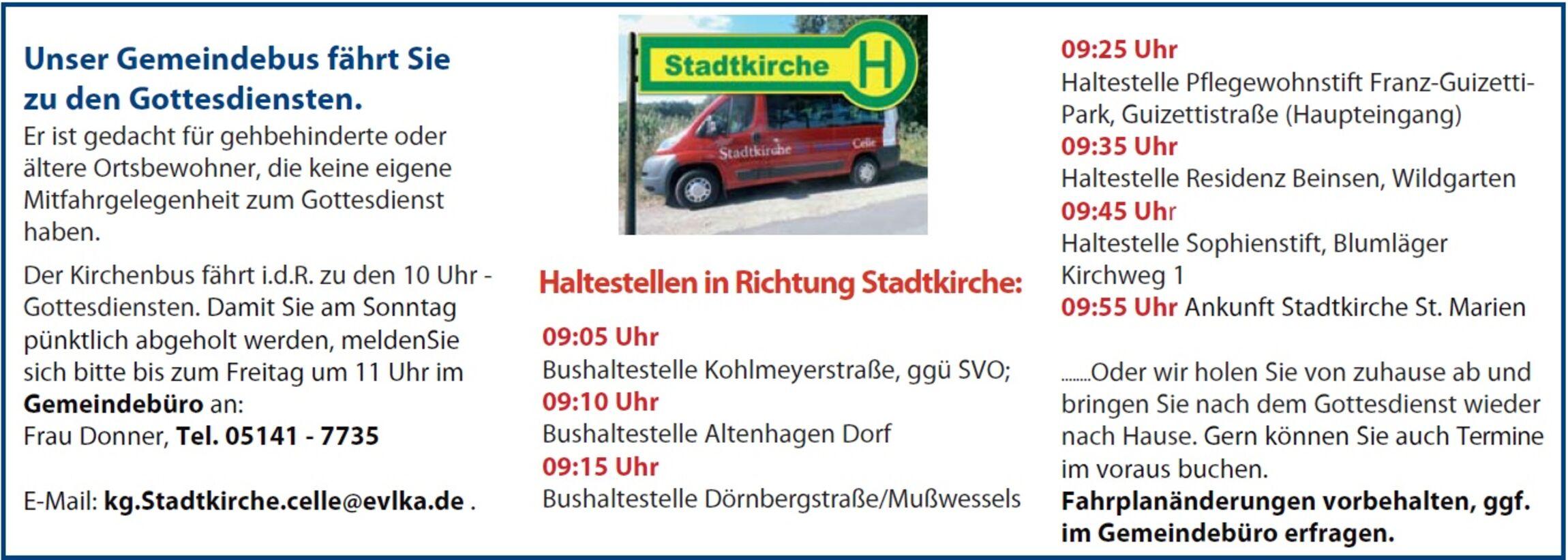 Gemeindebus 2018