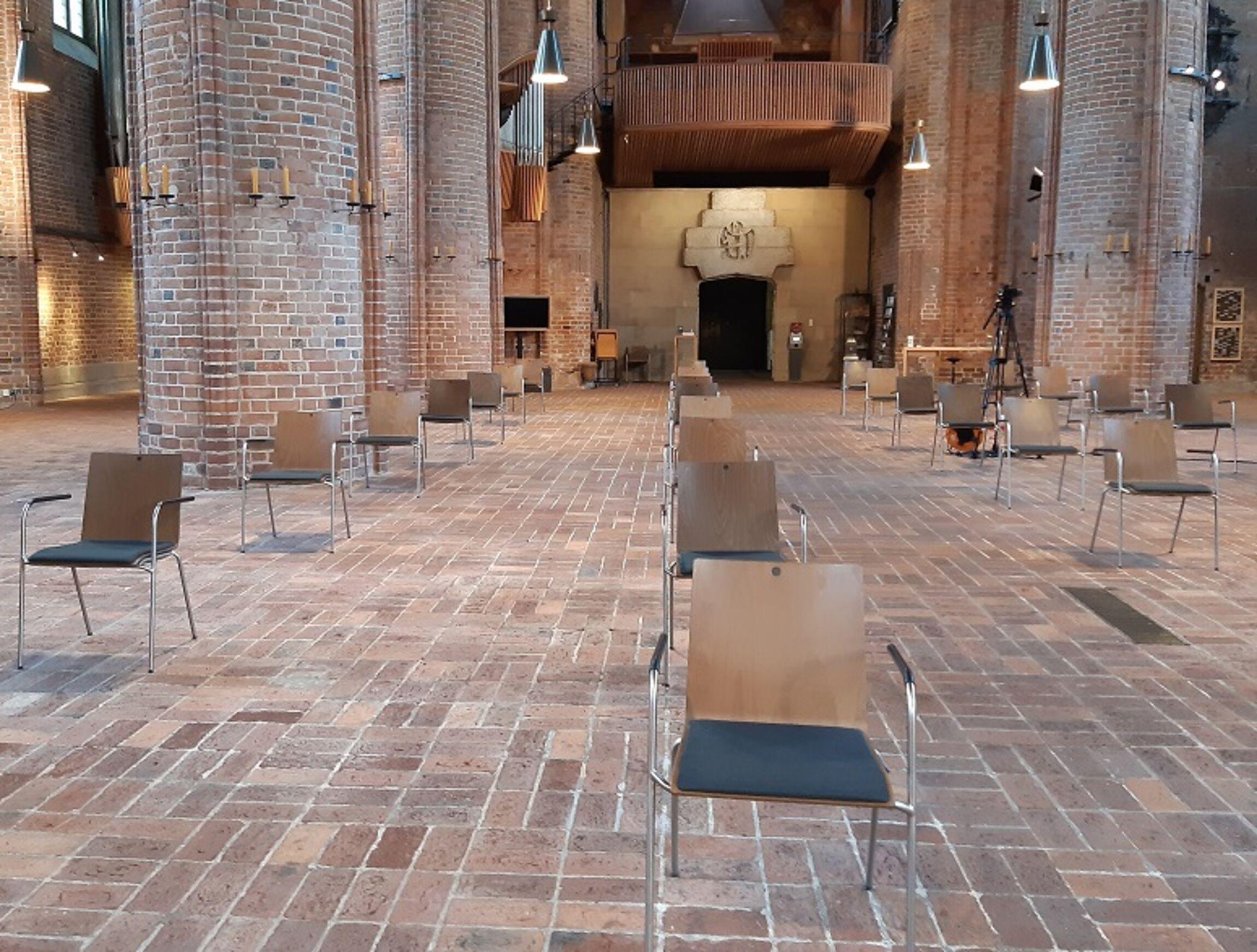 Marktkirche-Abstandsregeln
