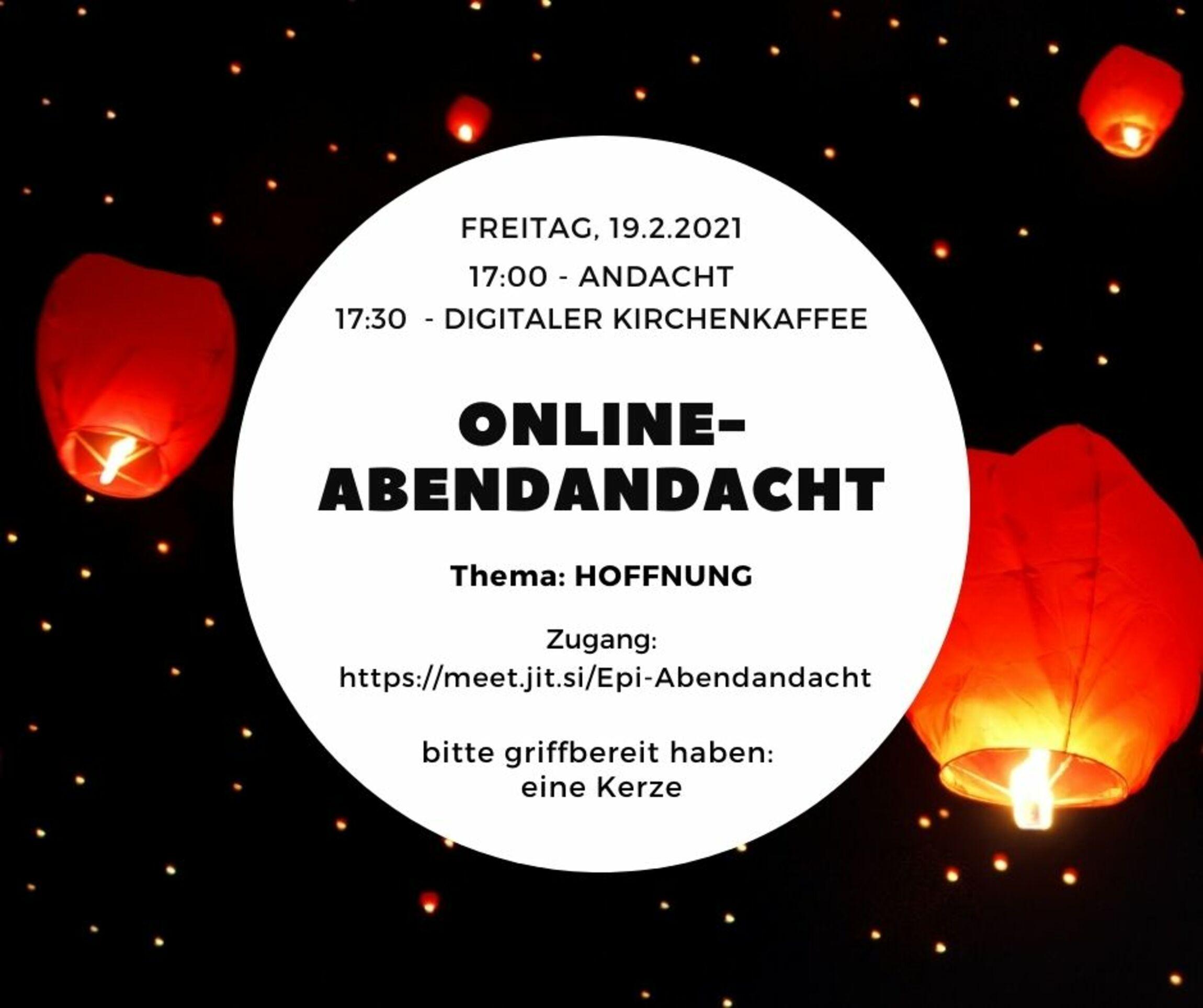 Online-Abendandacht-Epiphanias-Kirchengemeinde