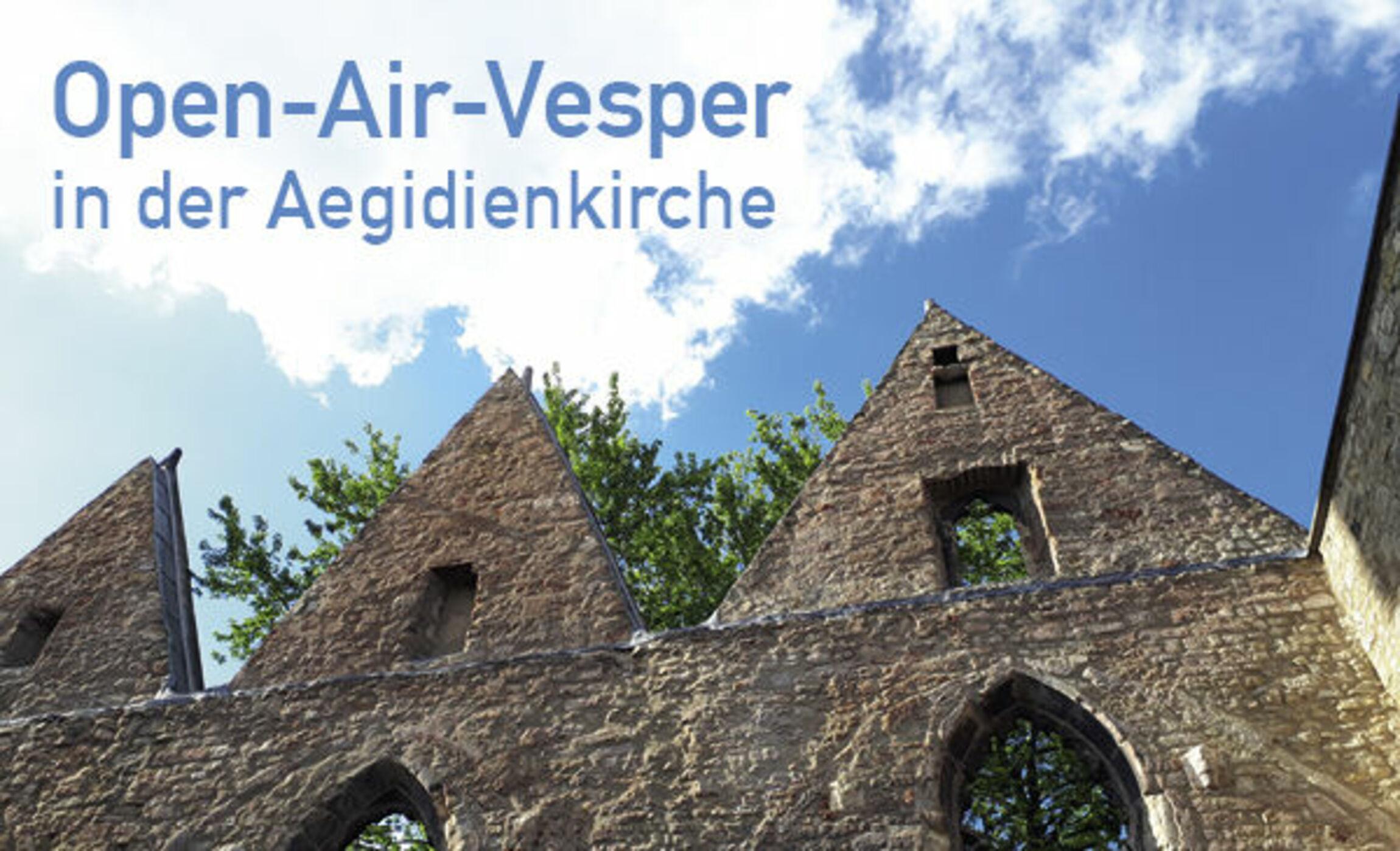 Open Air Vesper Aegidienkirche