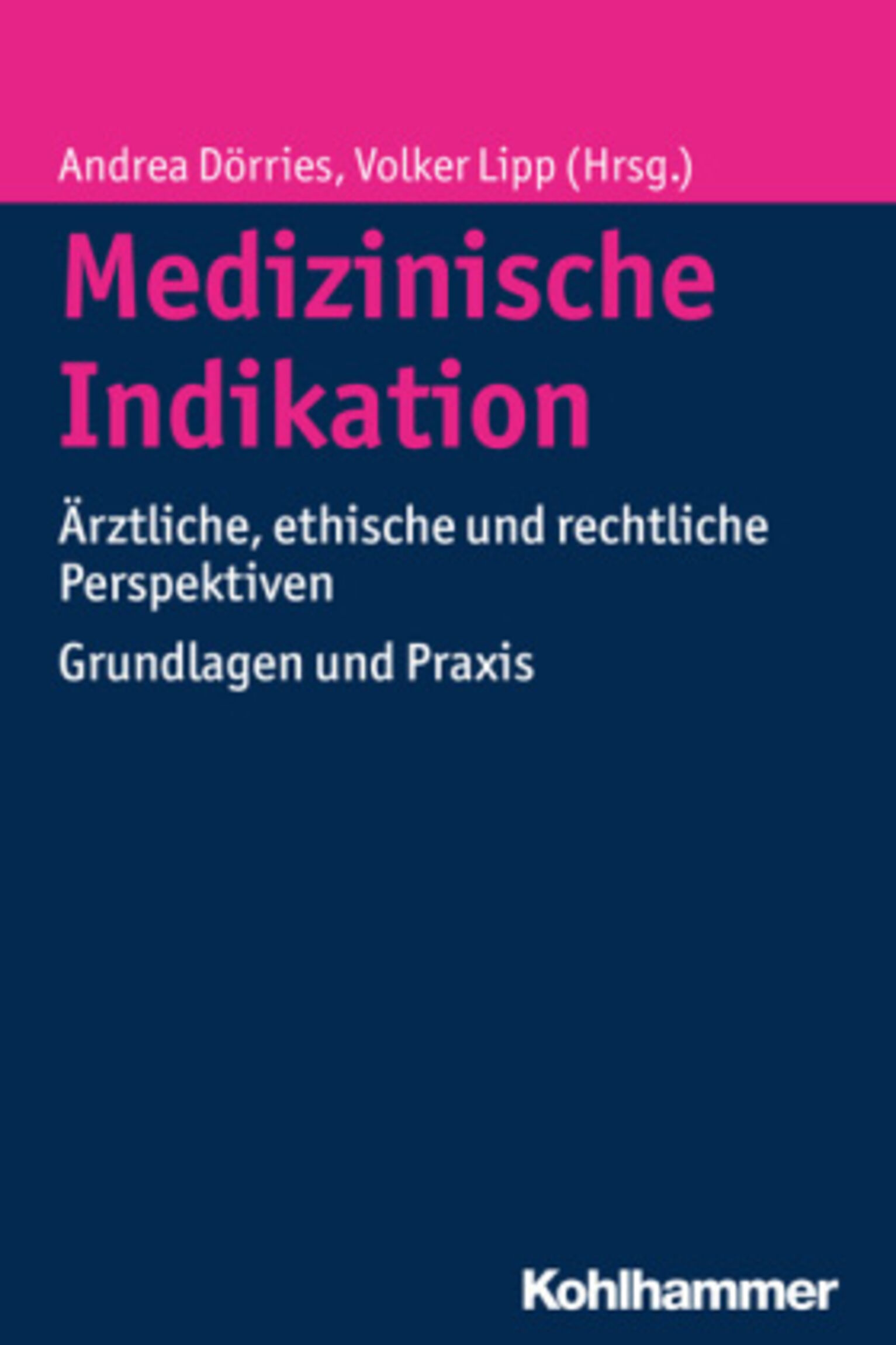 Medizinische Indikation Buchcover