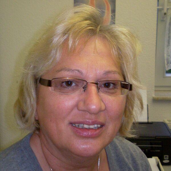 Sekretärin Brigitte Küster