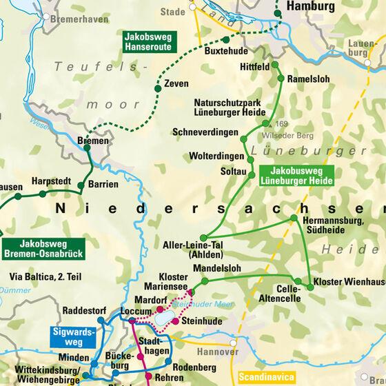 Jakobsweg Bremen Osnabrück