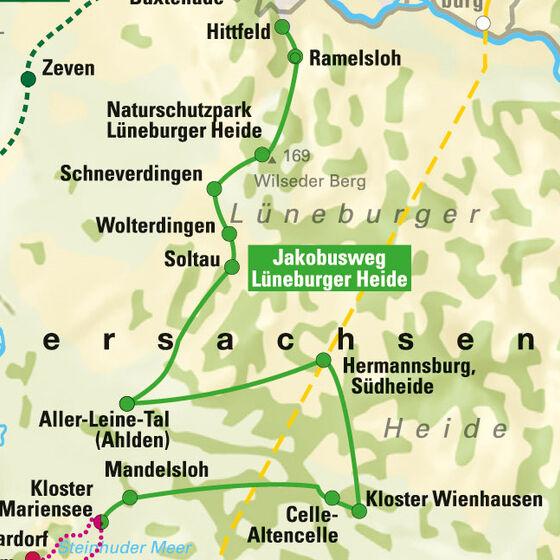 Jakobusweg Lüneburger Heide