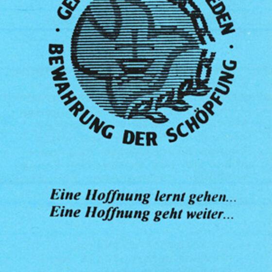 Einladung delegierte 1993